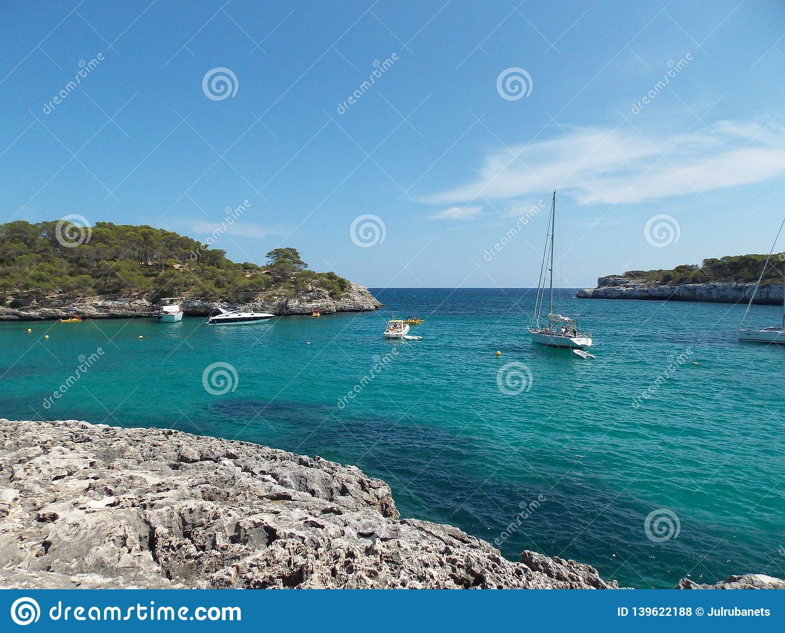 Opinión perfecta del mar, España