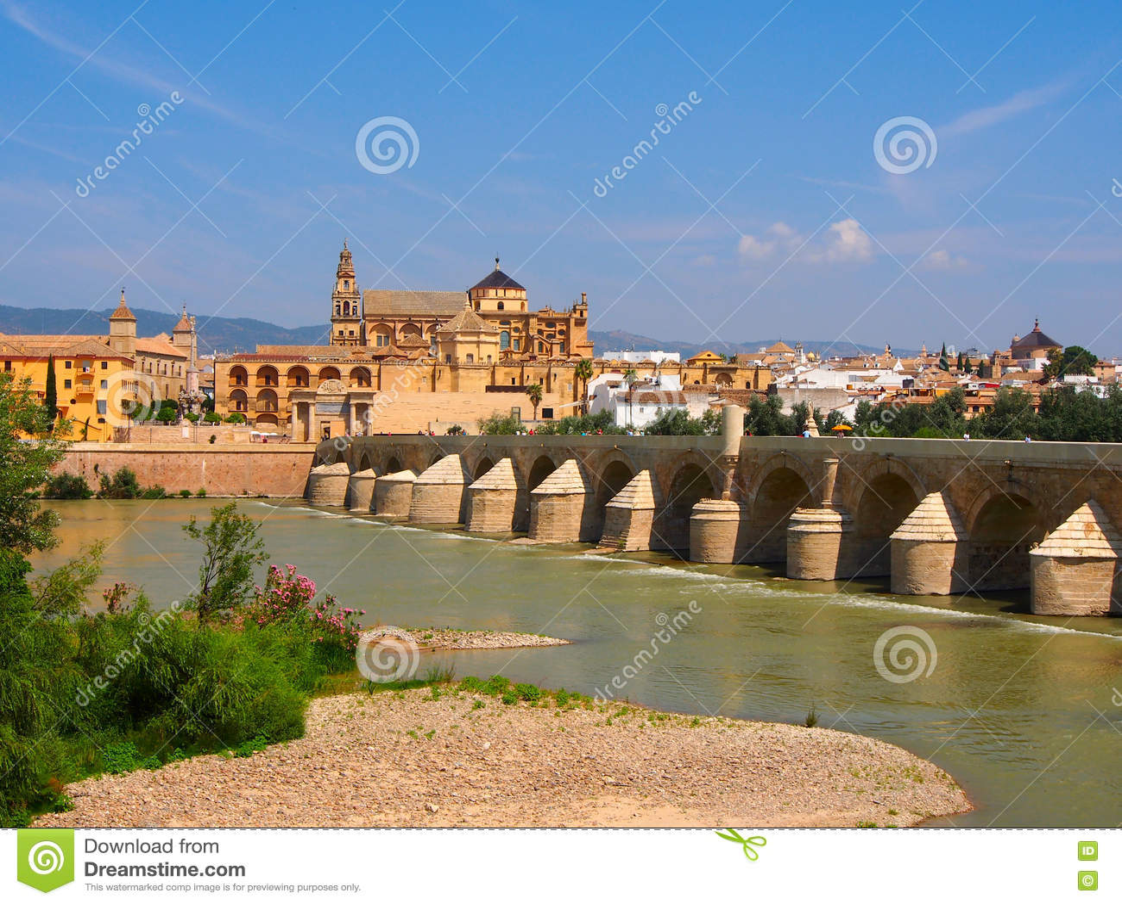 Opinión sobre el puente romano en Córdoba
