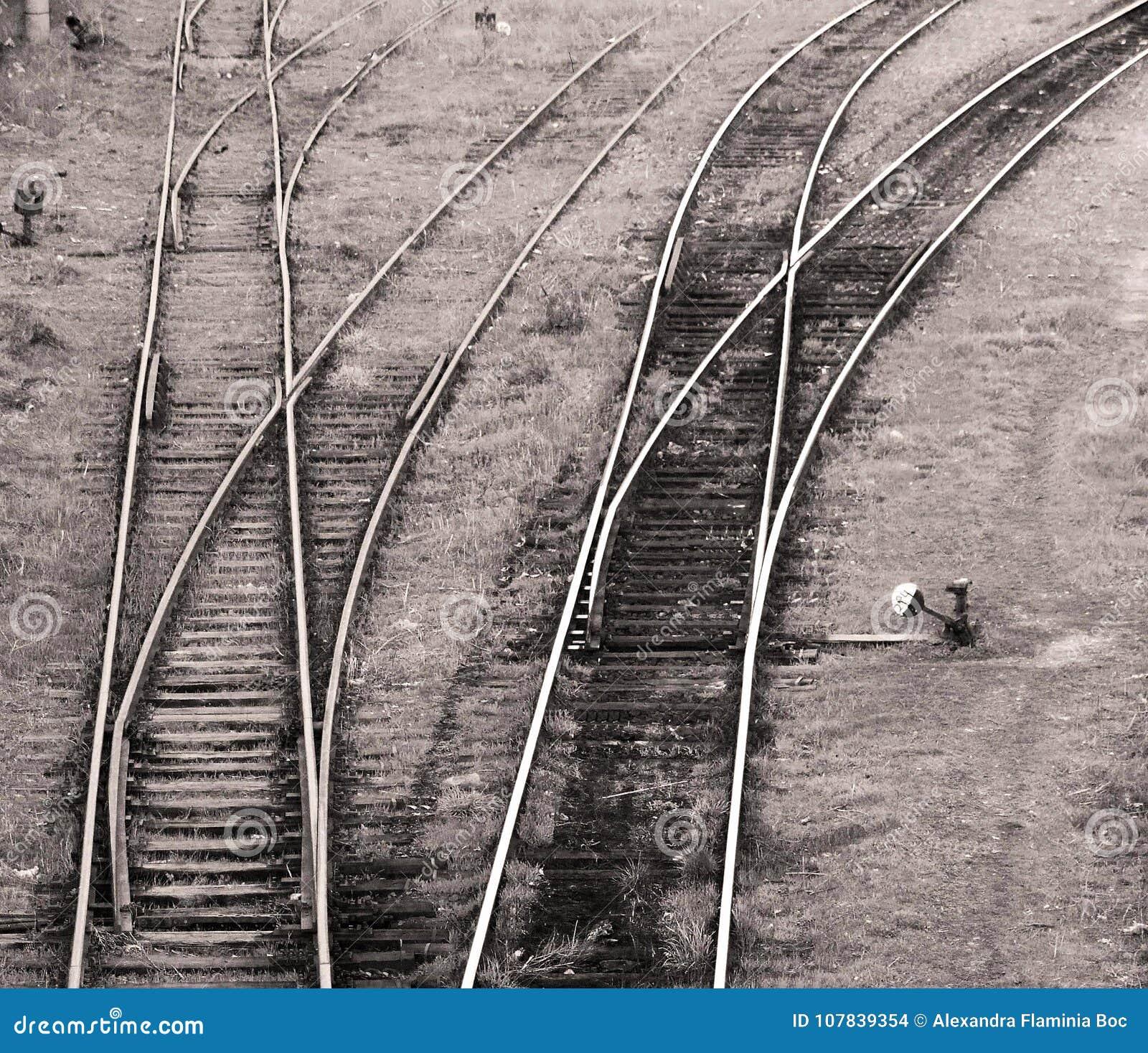 Opinión sobre pistas de un ferrocarril
