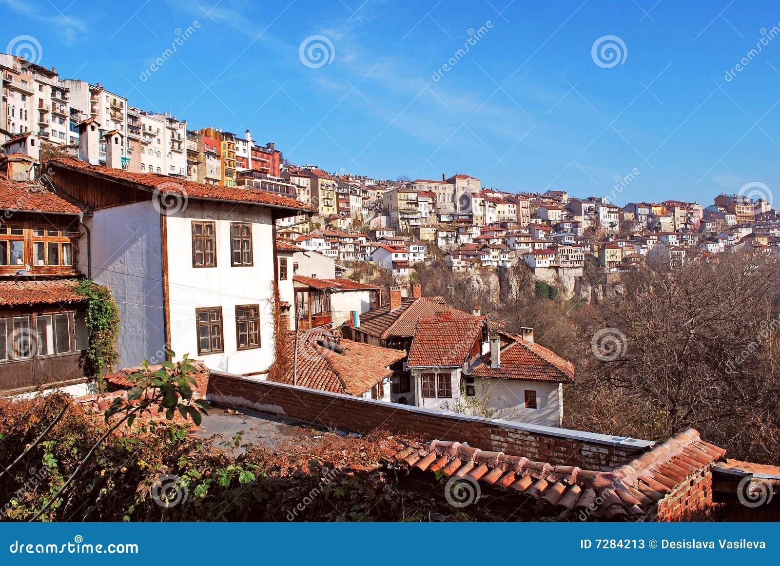 Opinión Veliko Turnovo de la ciudad