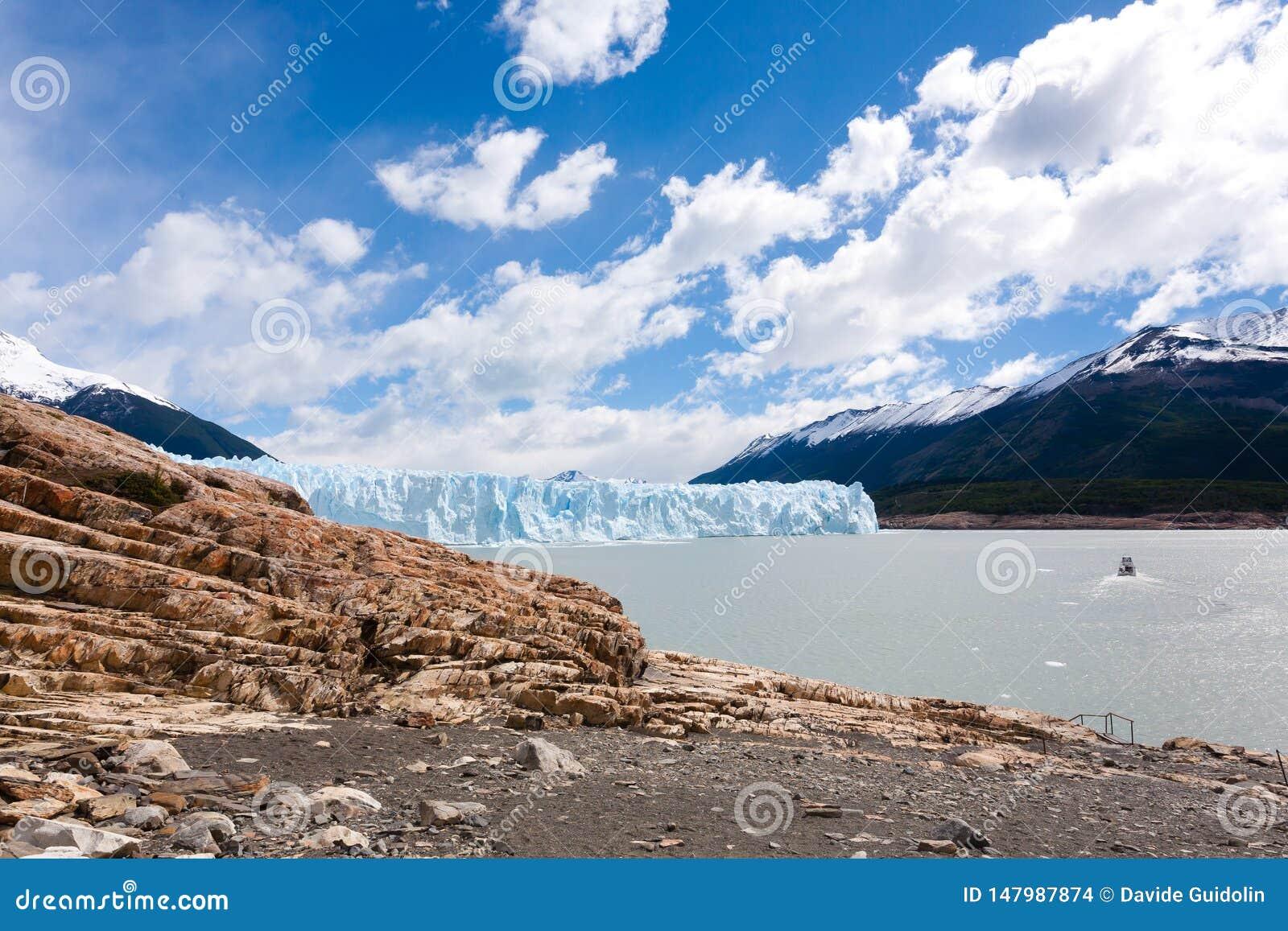 Opini?n del glaciar de Perito Moreno, paisaje de la Patagonia, la Argentina