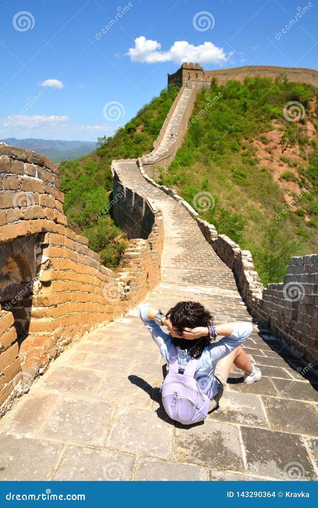Opini?n del verano sobre la Gran Muralla China