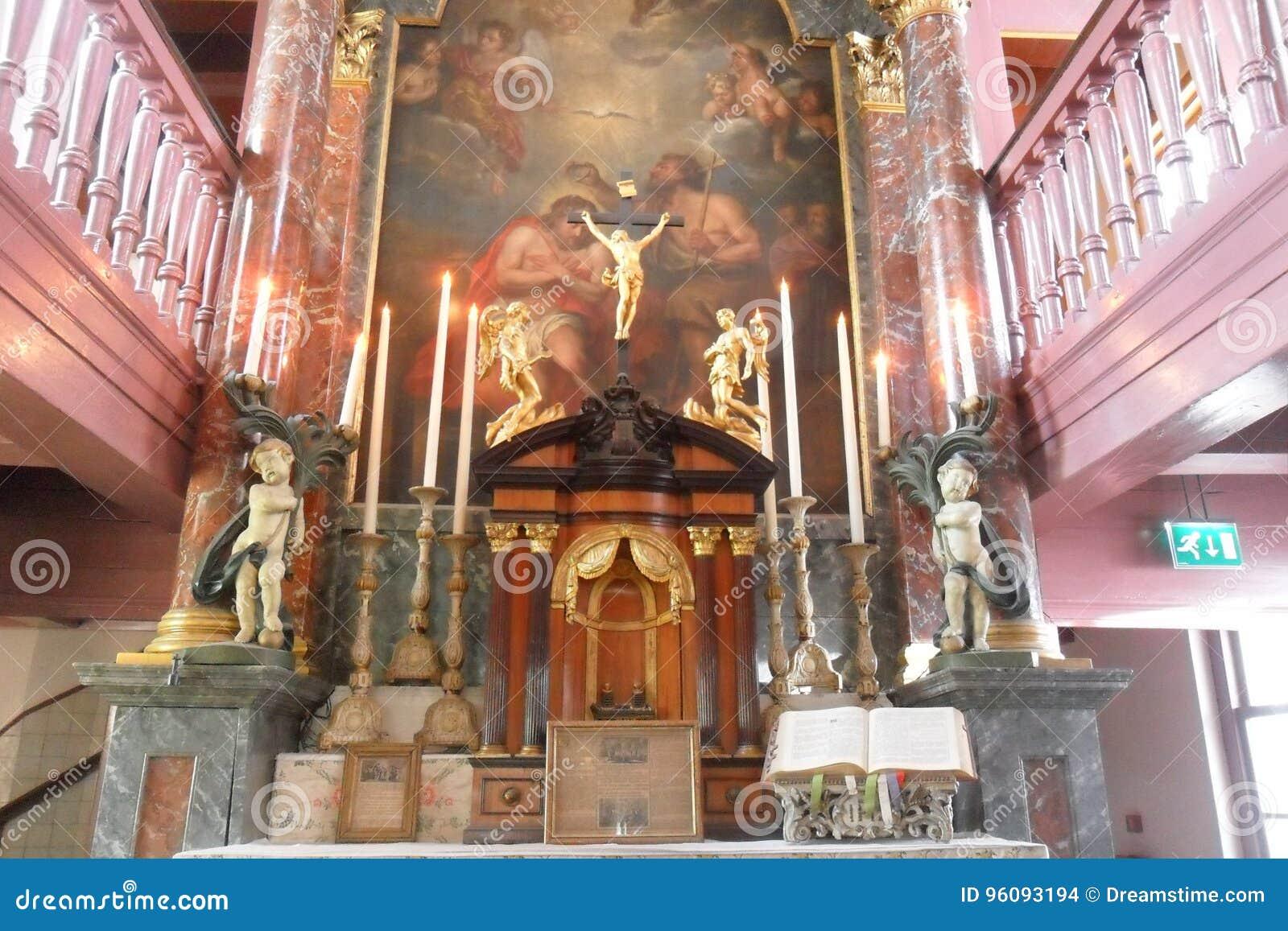 OPlötmittel Ons-` Lieve Heers oder die heimliche Kirche in Amsterdam