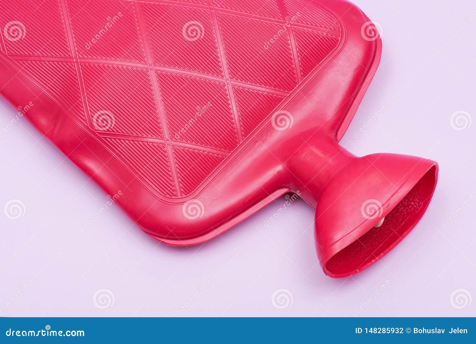 Opnieuw te gebruiken Rubber Klassieke, Grote ½ de Gallon Rode Zak van de Warm waterfles voor Hete of Koude Therapie Remedie voo