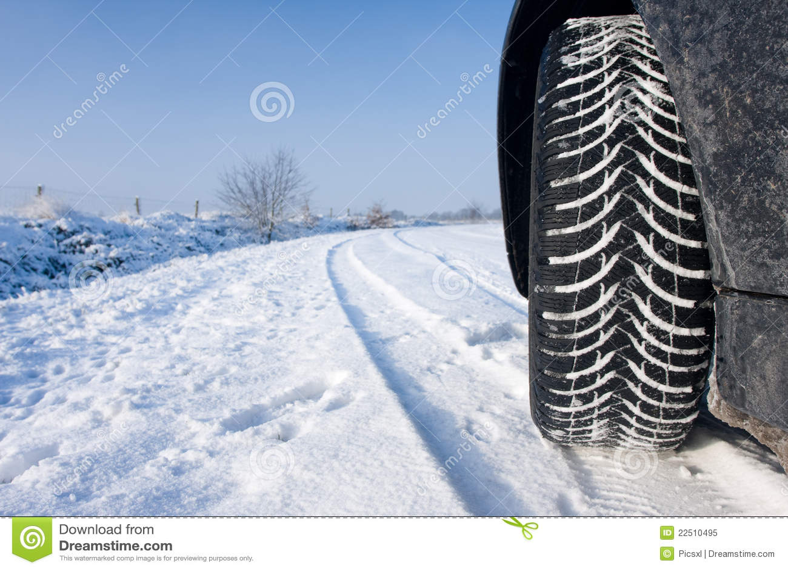 Opony śnieżna zima