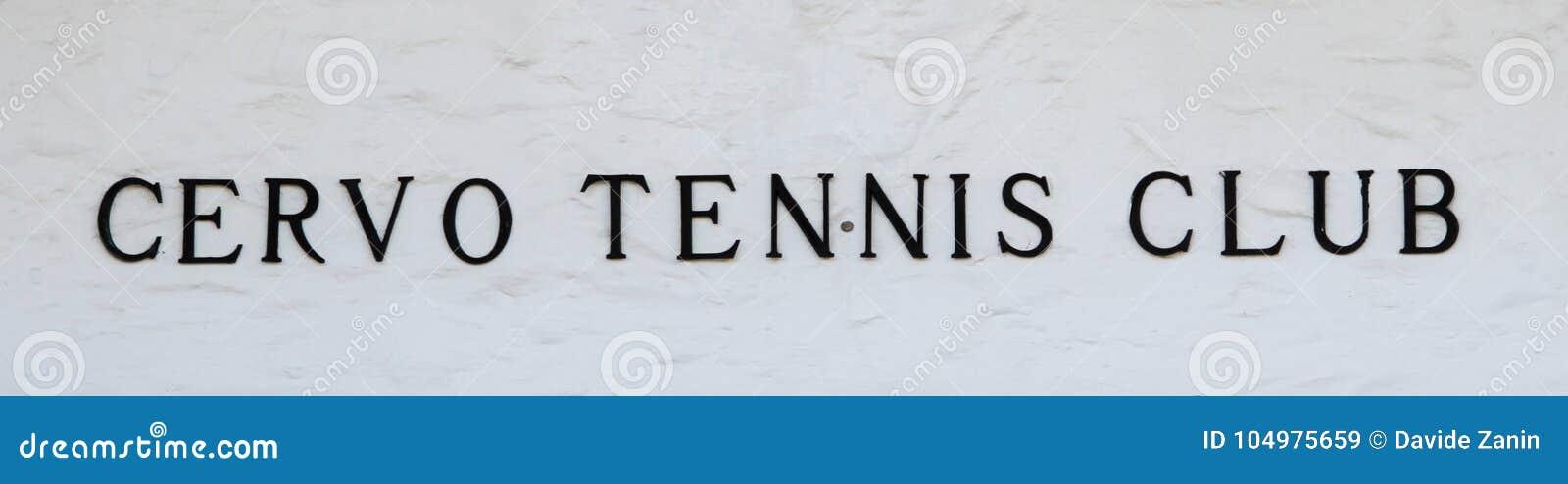Oporto Cervo, Cerdeña, Italia - club de tenis