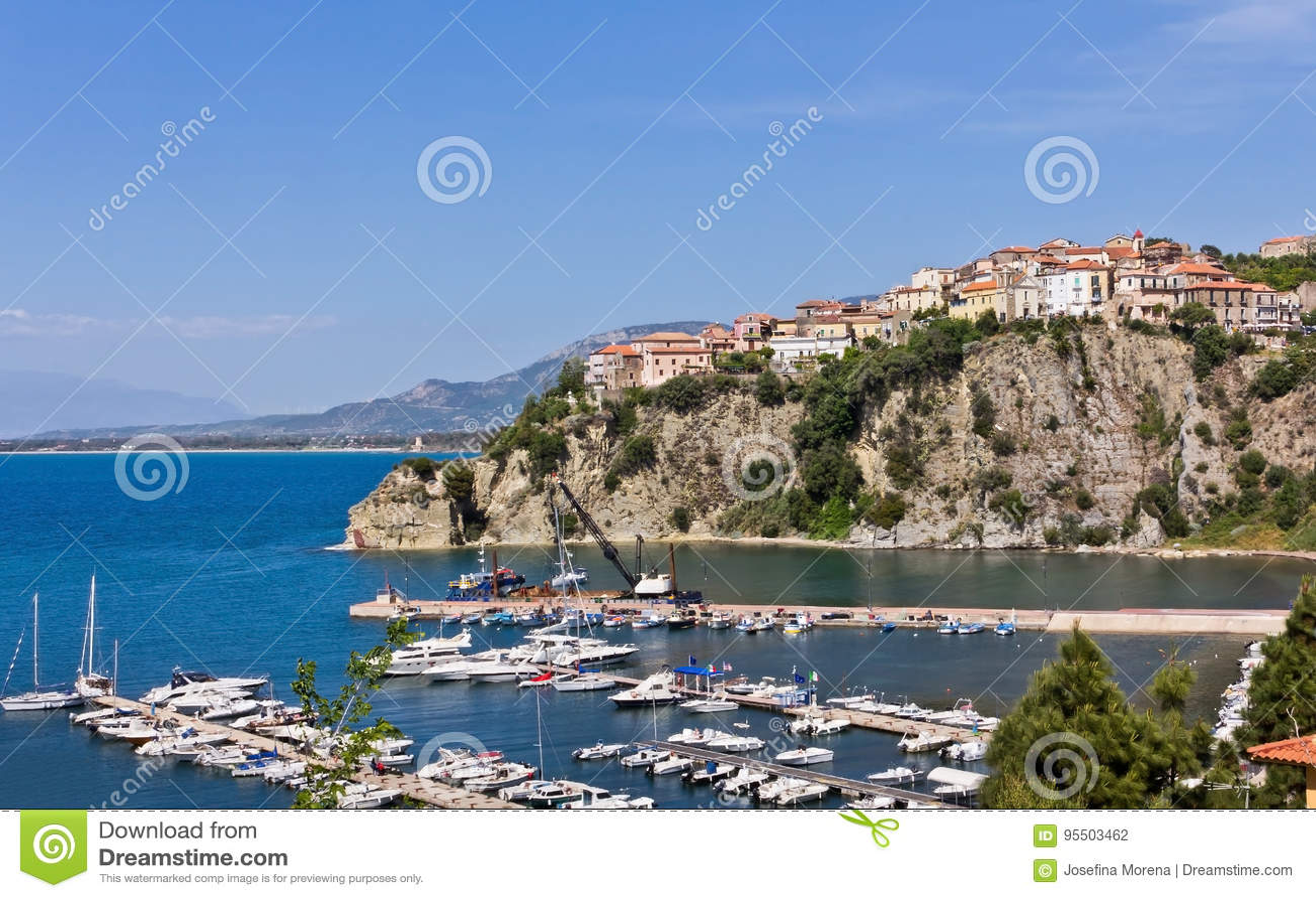 Oporto di Agropoli un Salerno