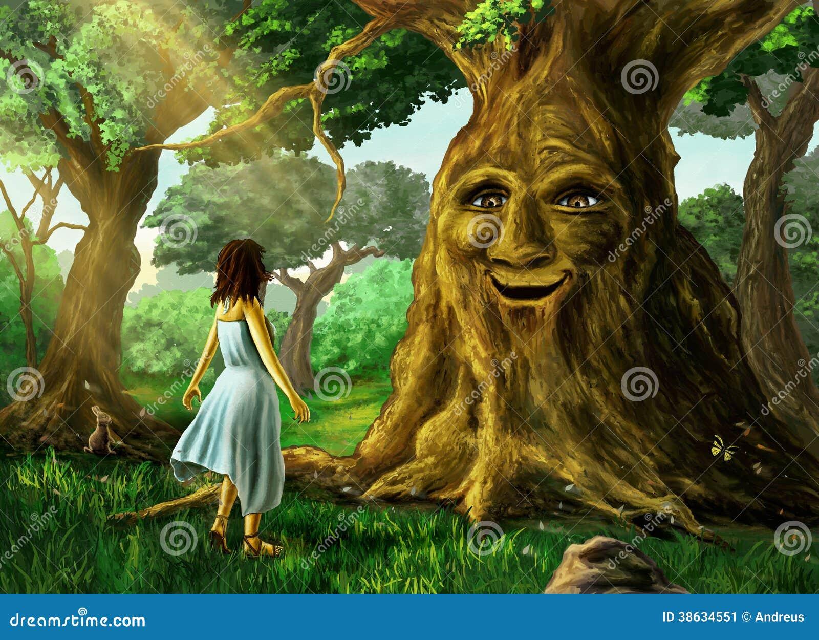 Opowiadać drzewa
