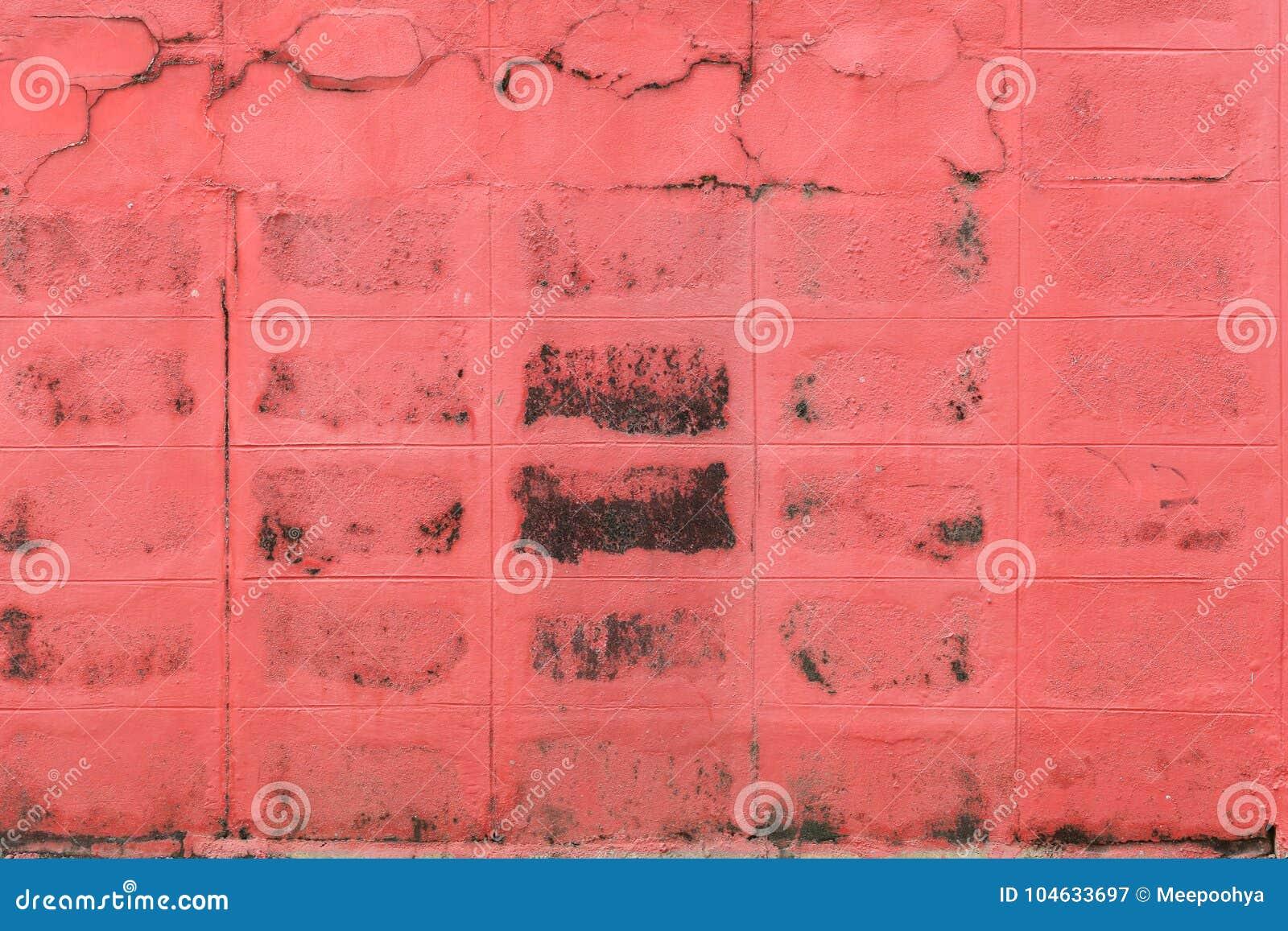 Download Oppervlakte Van Rood Oud Doorstaan Beton Stock Afbeelding - Afbeelding bestaande uit huis, binnenlands: 104633697
