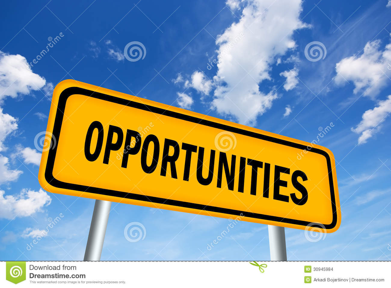 Opportunities Stock Images Image 30945984