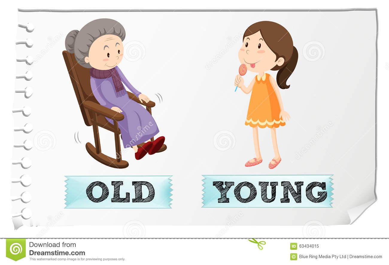de old and young