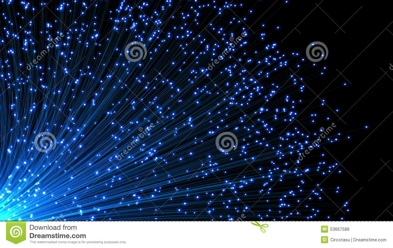 Communications Fiber Optics And Circuit Board Stock Footage Video