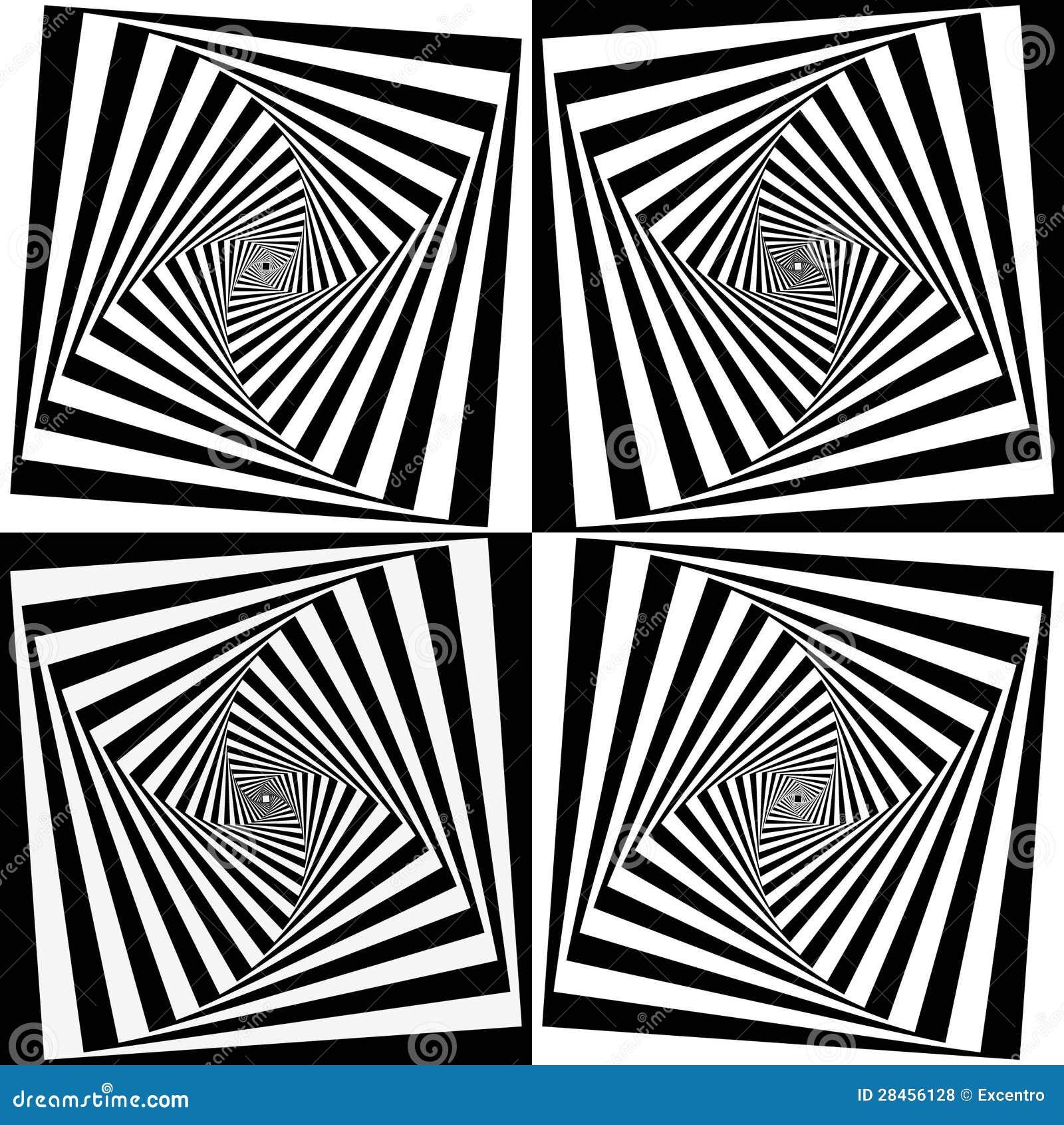 Optical Art Stock Vector. Illustration Of Mobius
