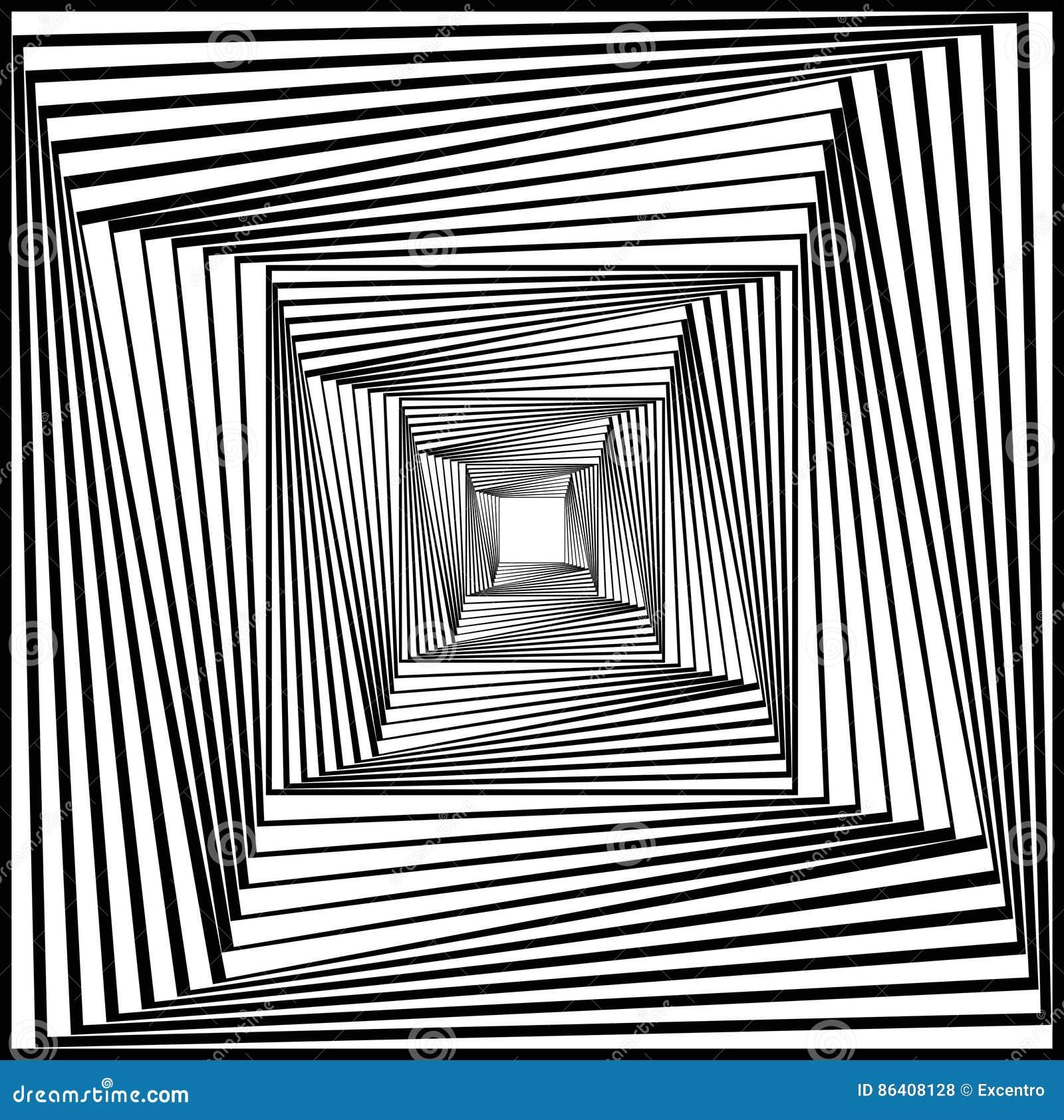 Optical Art Stock Vector. Illustration Of Escher