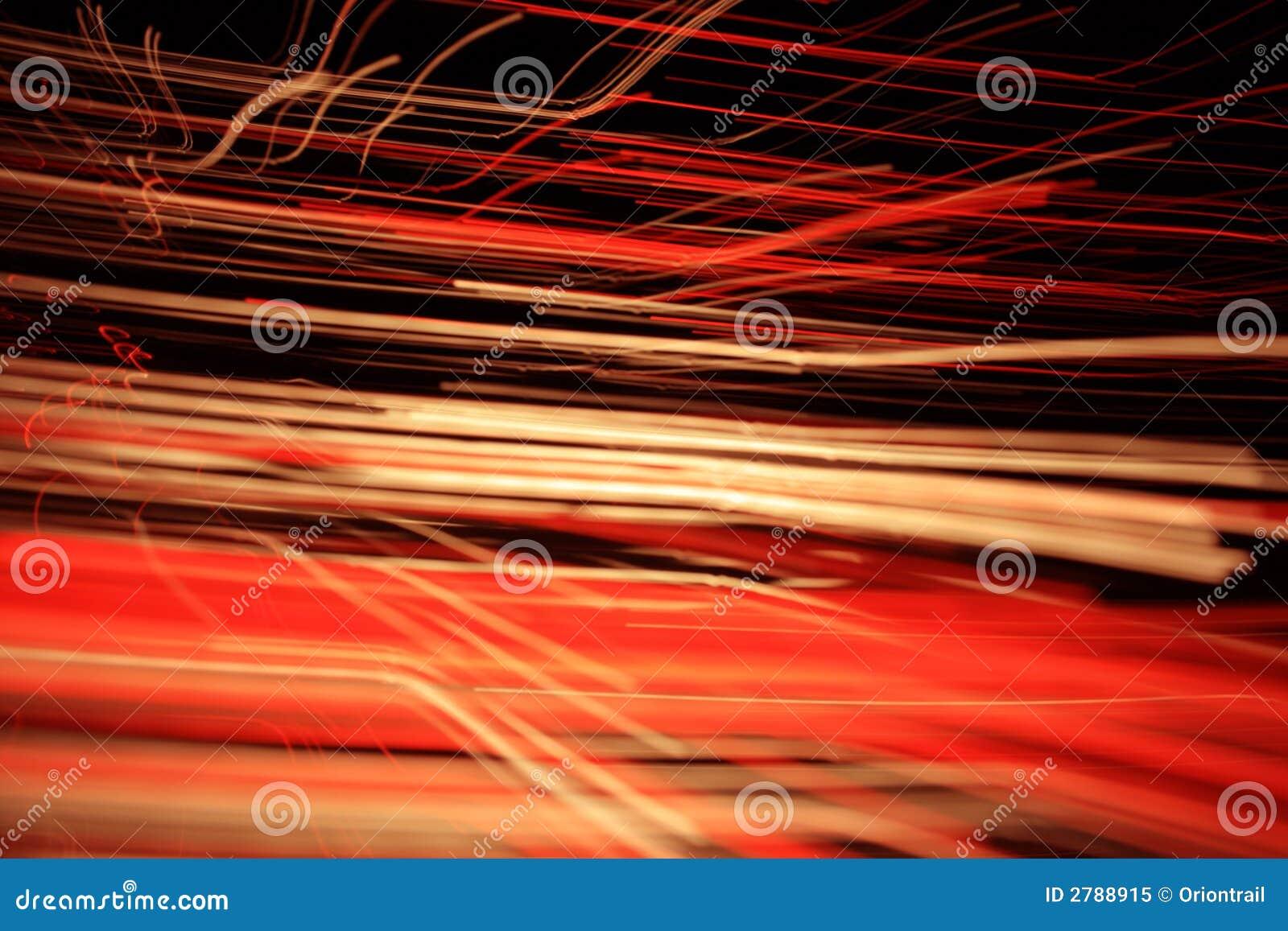 Optical fibres-light lines