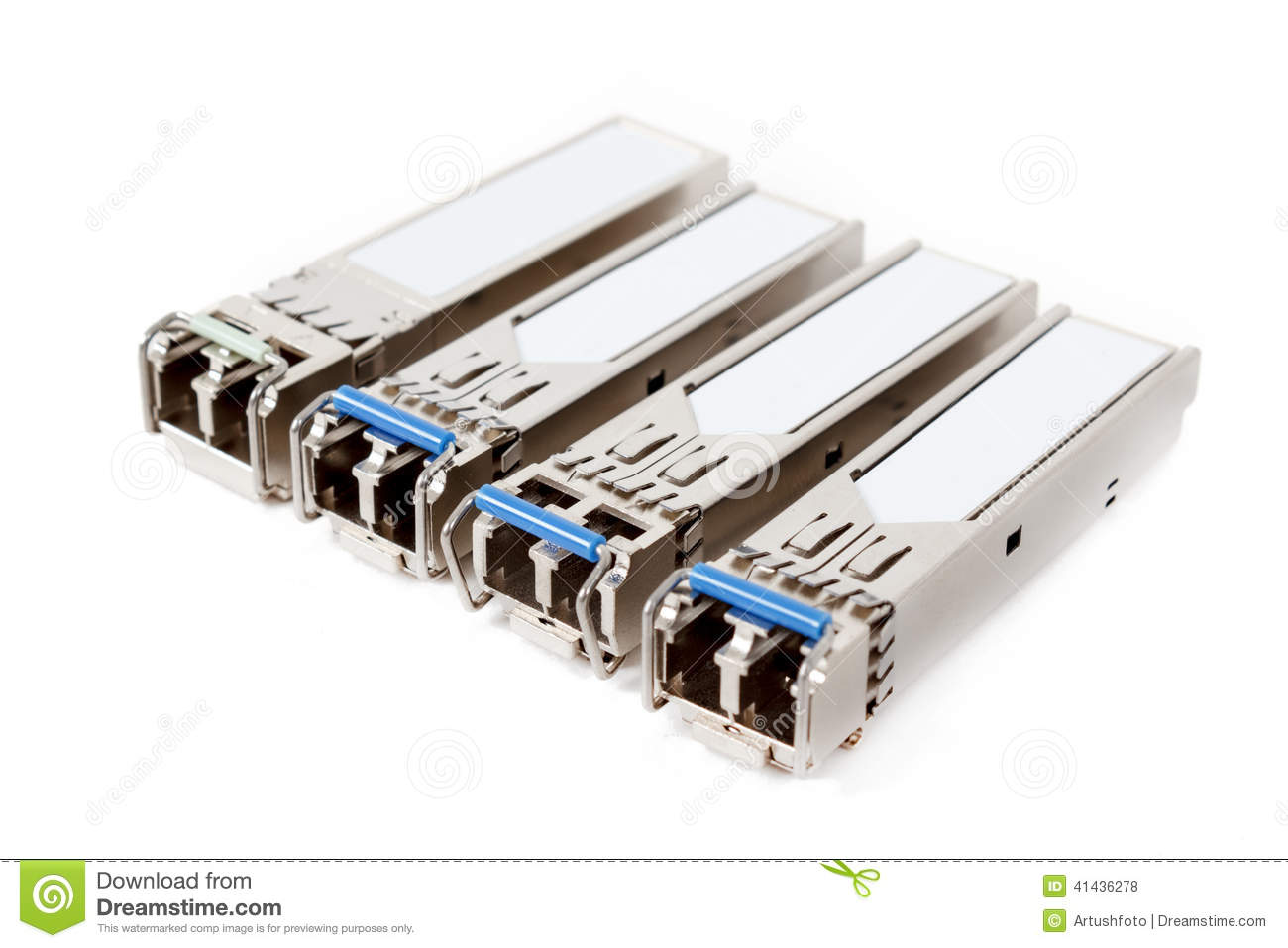 Optical Gigabit Sfp Modules For Network Switch On The
