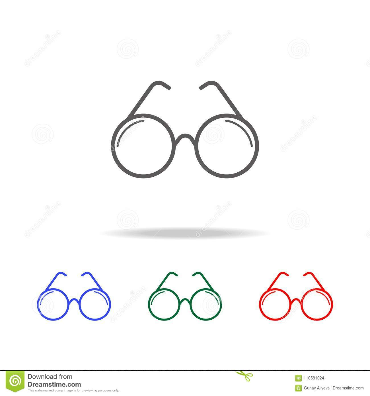 14ed6bc9e5fe optical glasses icon. Elements in multi colored icons for mobile concept  and web apps. Icons for website design and development, .
