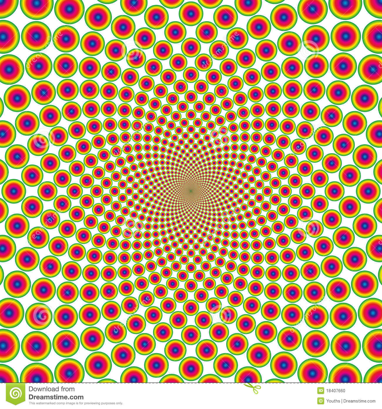 Optical Illusion Free Download Color Page