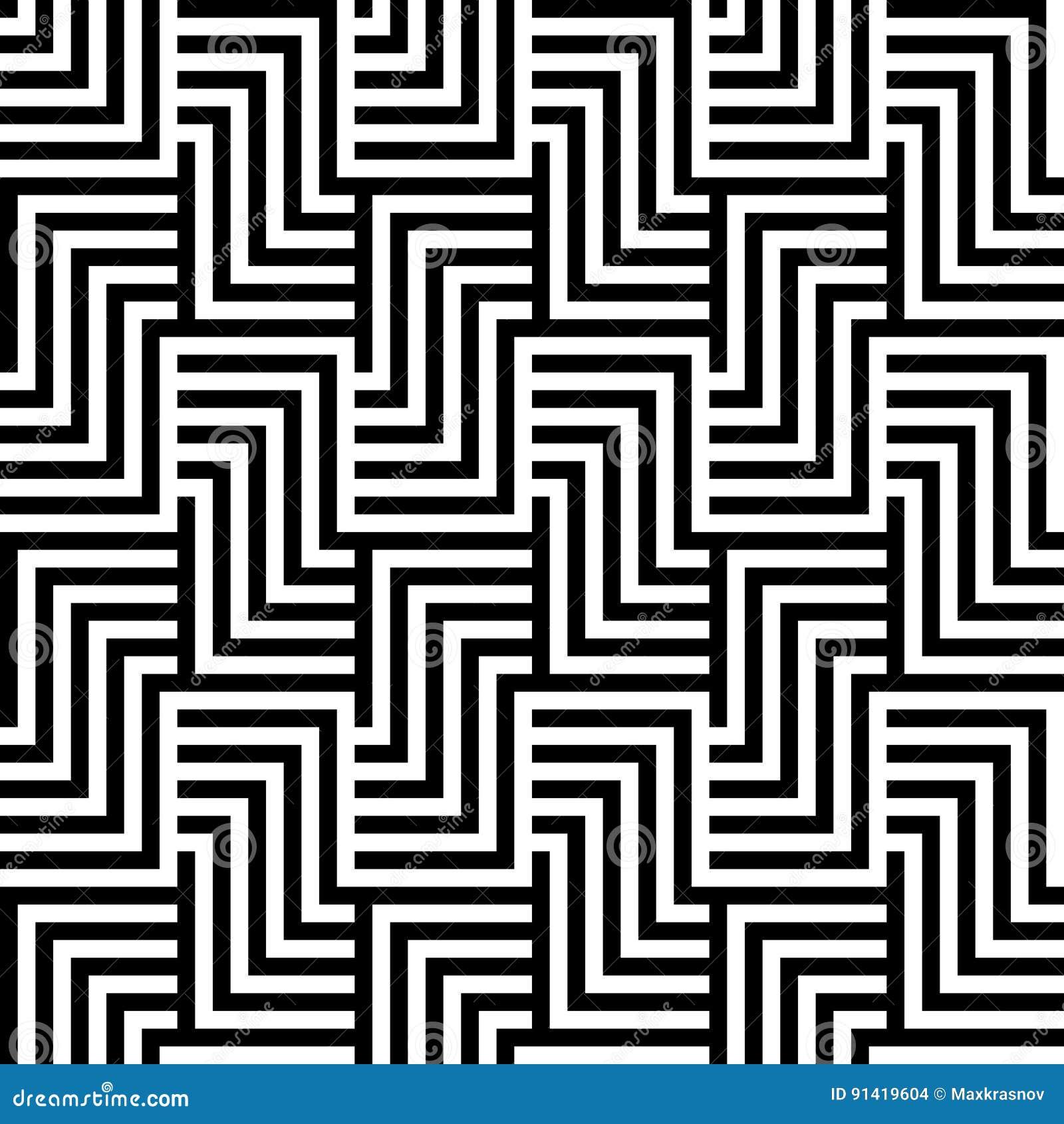 Optical Illusion Wallpaper Stock Vector Illustration Of