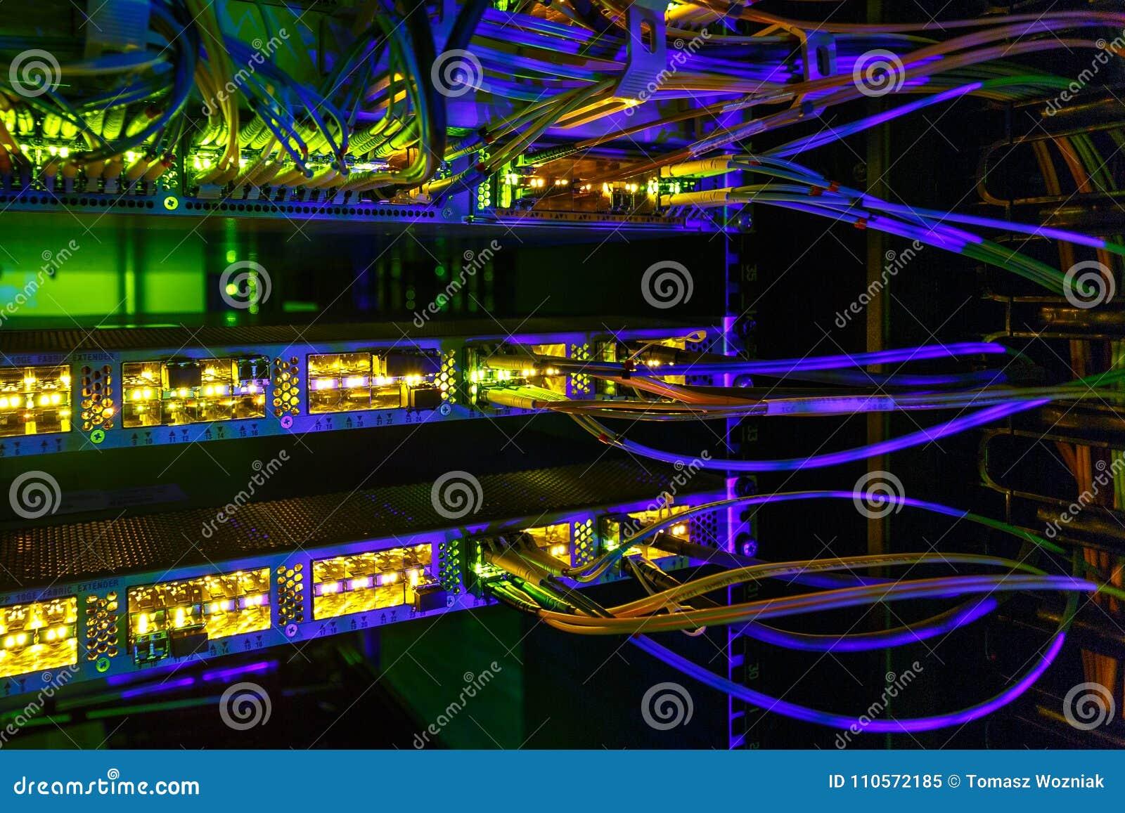 Optiksteckerschnittstelle der Faser Informationstechnologie-Computernetzwerk