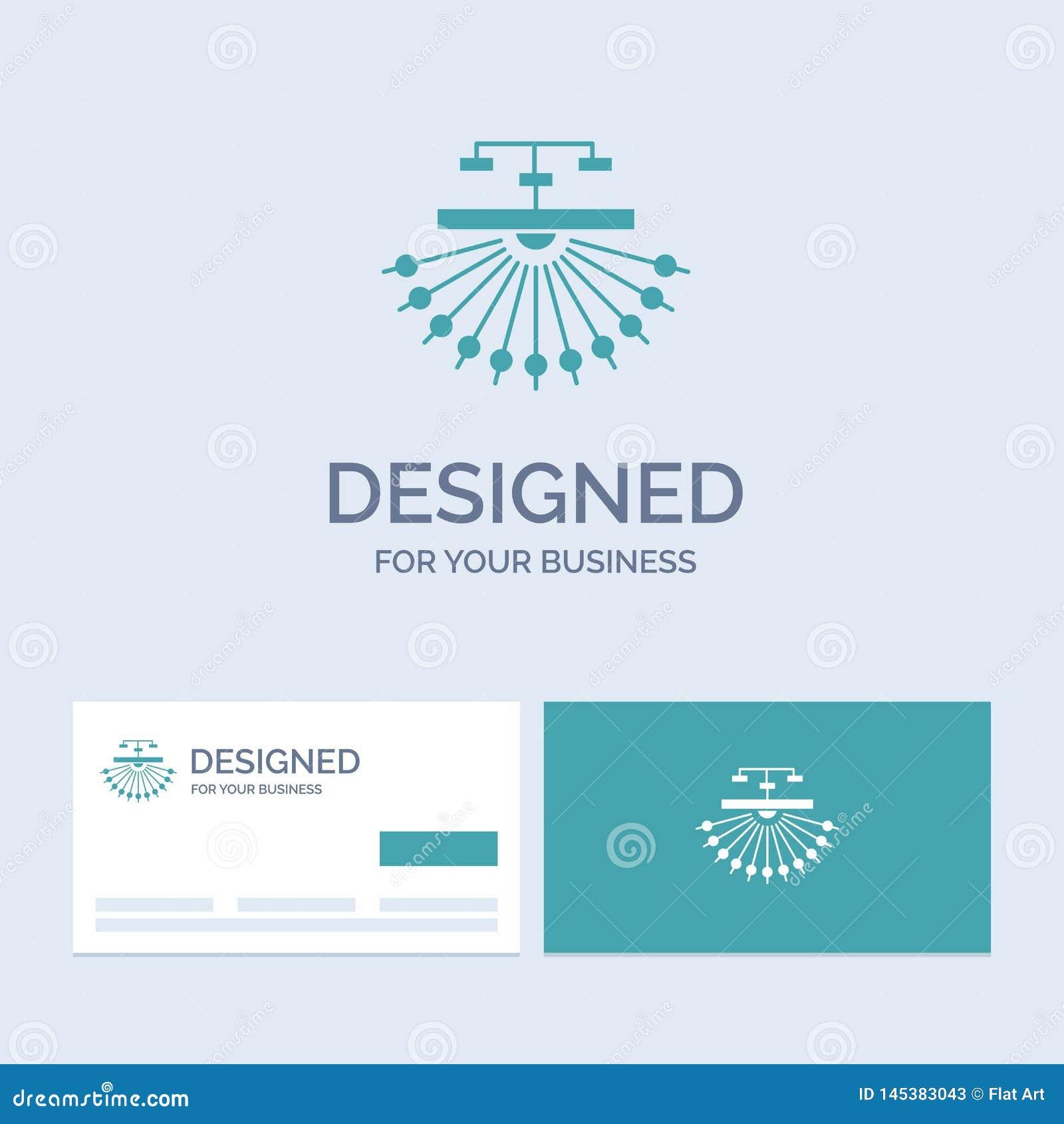Optimalisering, plaats, plaats, structuur, Webzaken Logo Glyph Icon Symbol voor uw zaken Turkooise Visitekaartjes met Merk