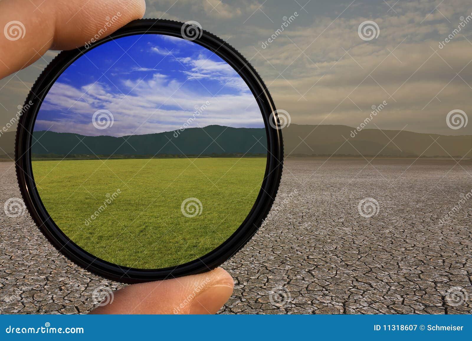 Optimistischer Objektivfilter
