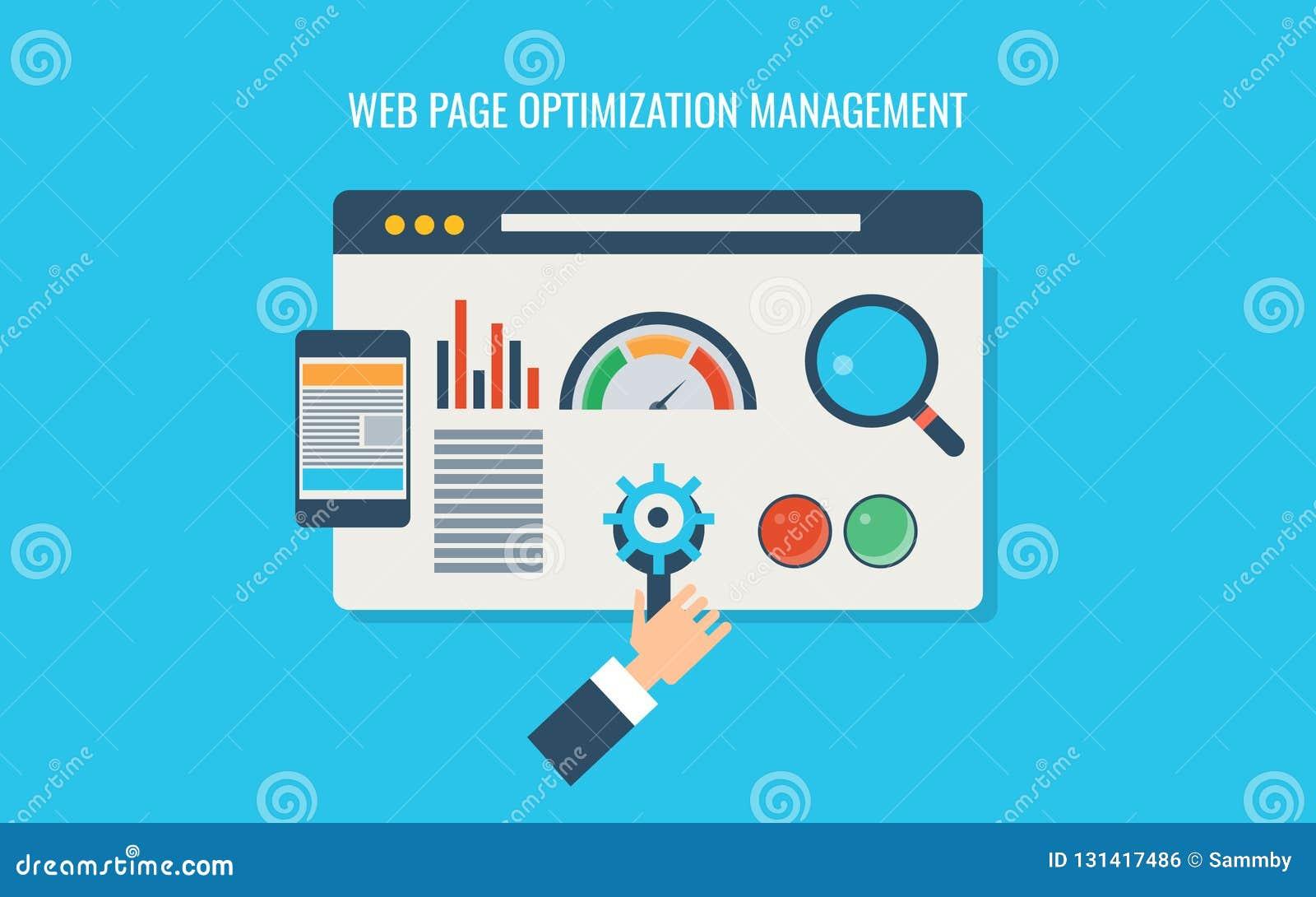 Optimización de la página web, seo de la página web, prueba de velocidad cargada, codificación, programación, responsiva Bandera