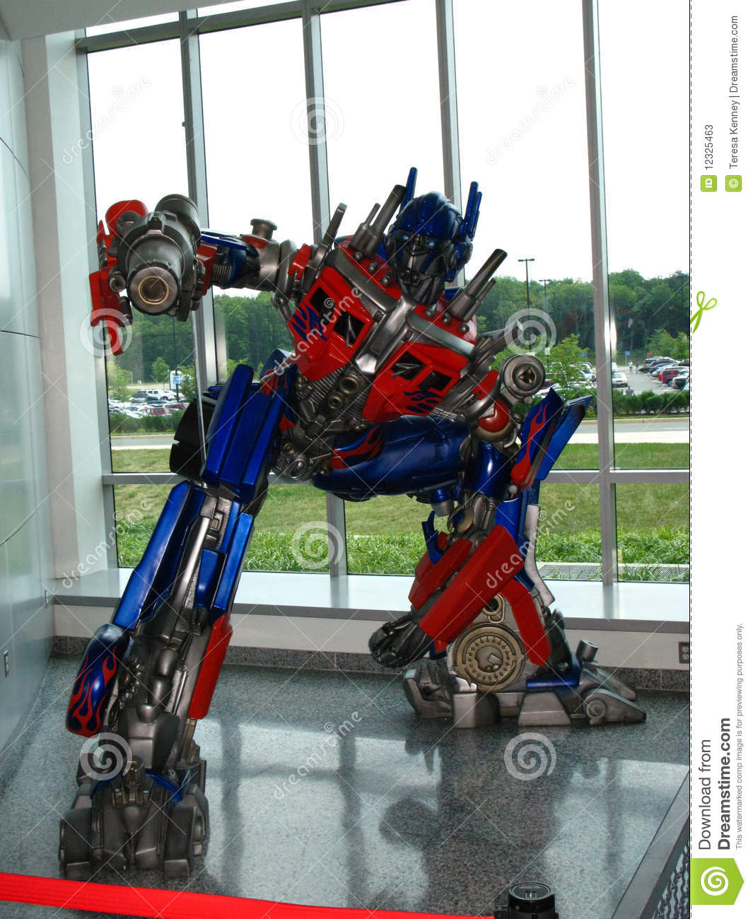 optimus prime the transformer editorial stock photo - image of