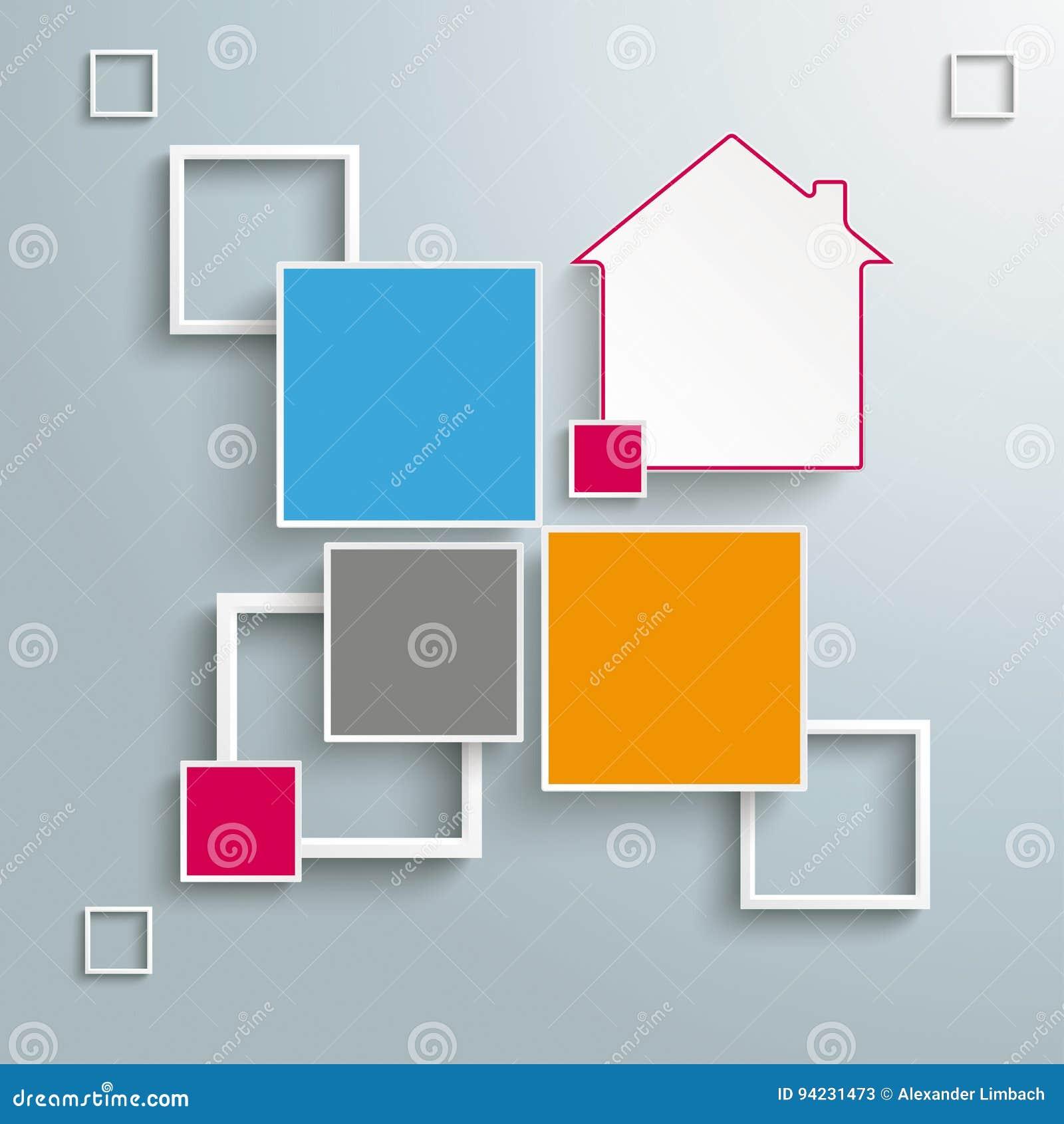 Options de la conception 4 de Chambre de cadres de places