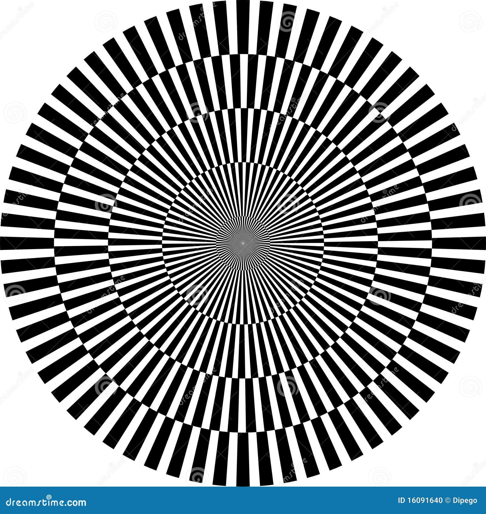 optische illusion rund stockfoto bild 16091640. Black Bedroom Furniture Sets. Home Design Ideas
