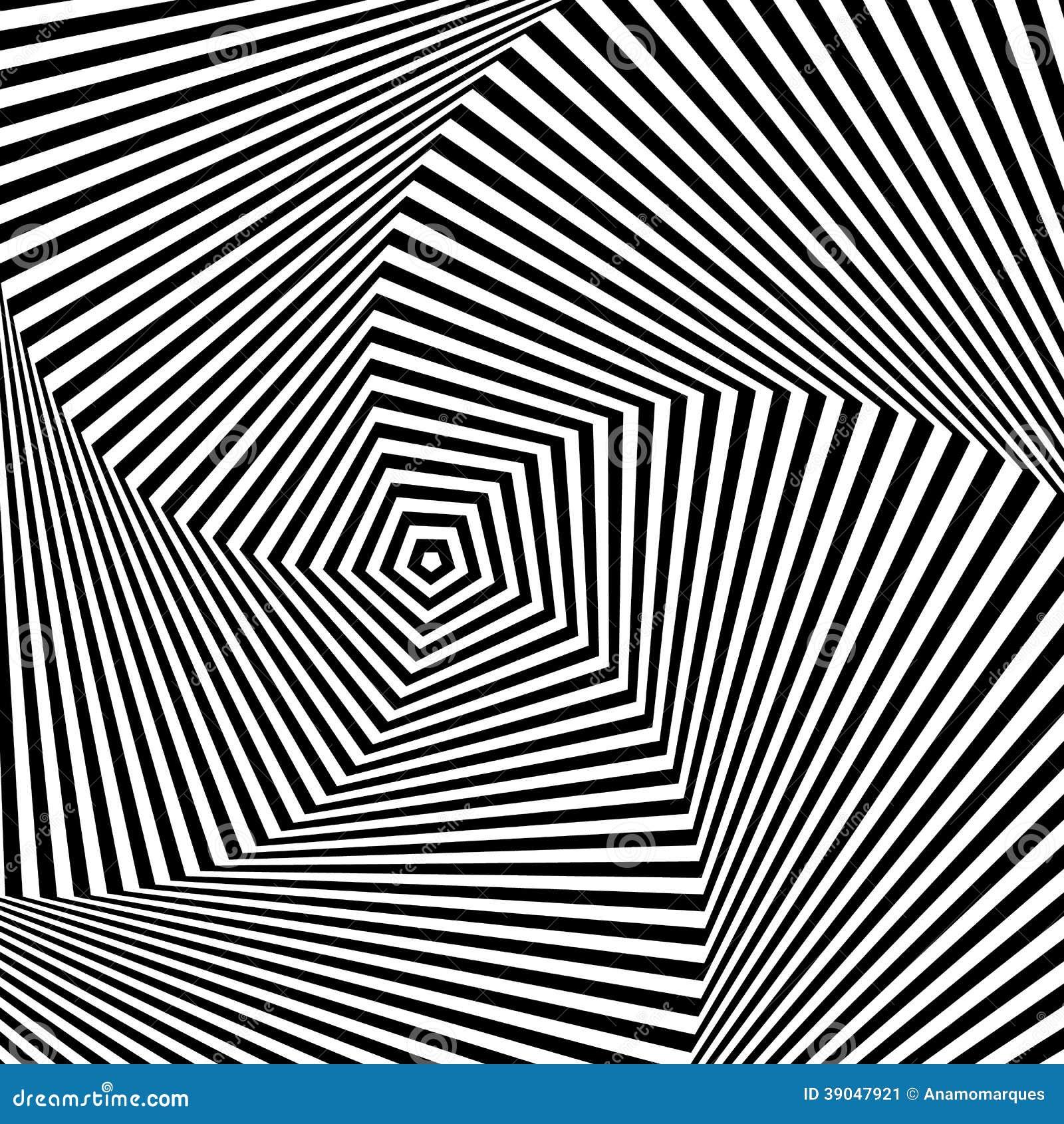 Optische Täuschung Vektor Abbildung  Bild 39047921