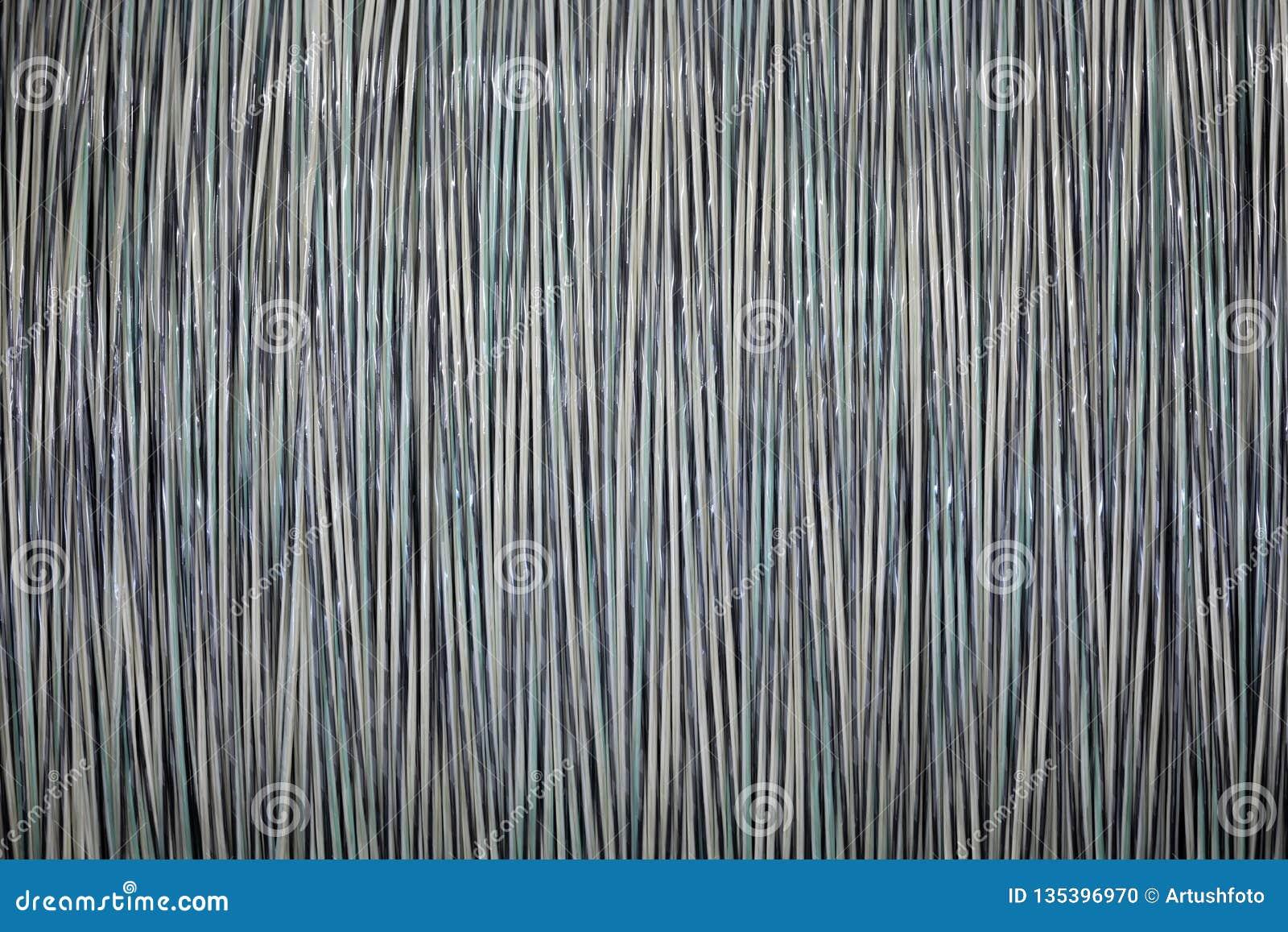 Optisk kabel för fiber på rullar