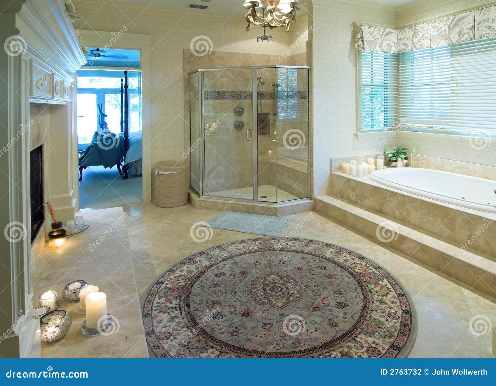 Opulent Bathroom Stock Photography Image 2763732