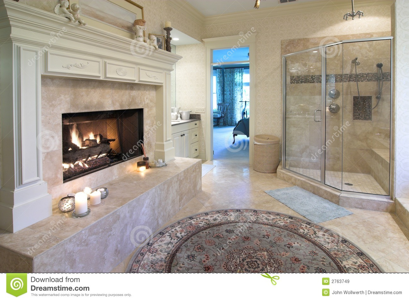 Opulent Bathroom Royalty Free Stock Images Image 2763749