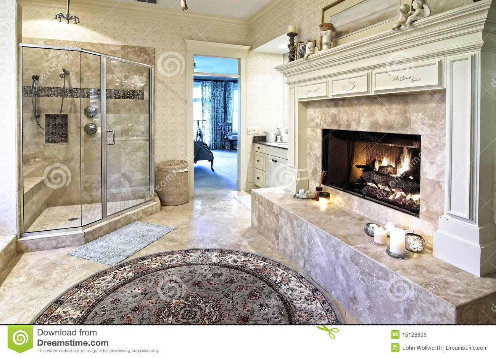 Opulent Bathroom 50 Royalty Free Stock Image Image 15128806