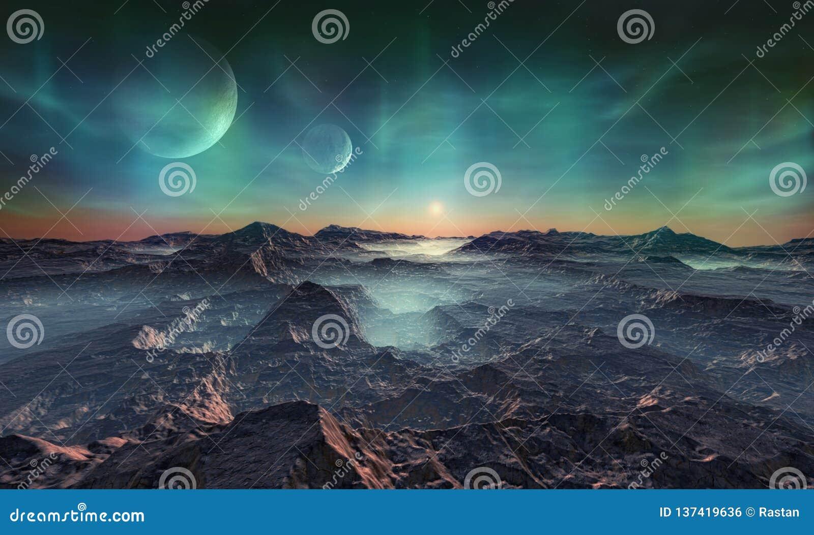 Opustoszała obca planeta