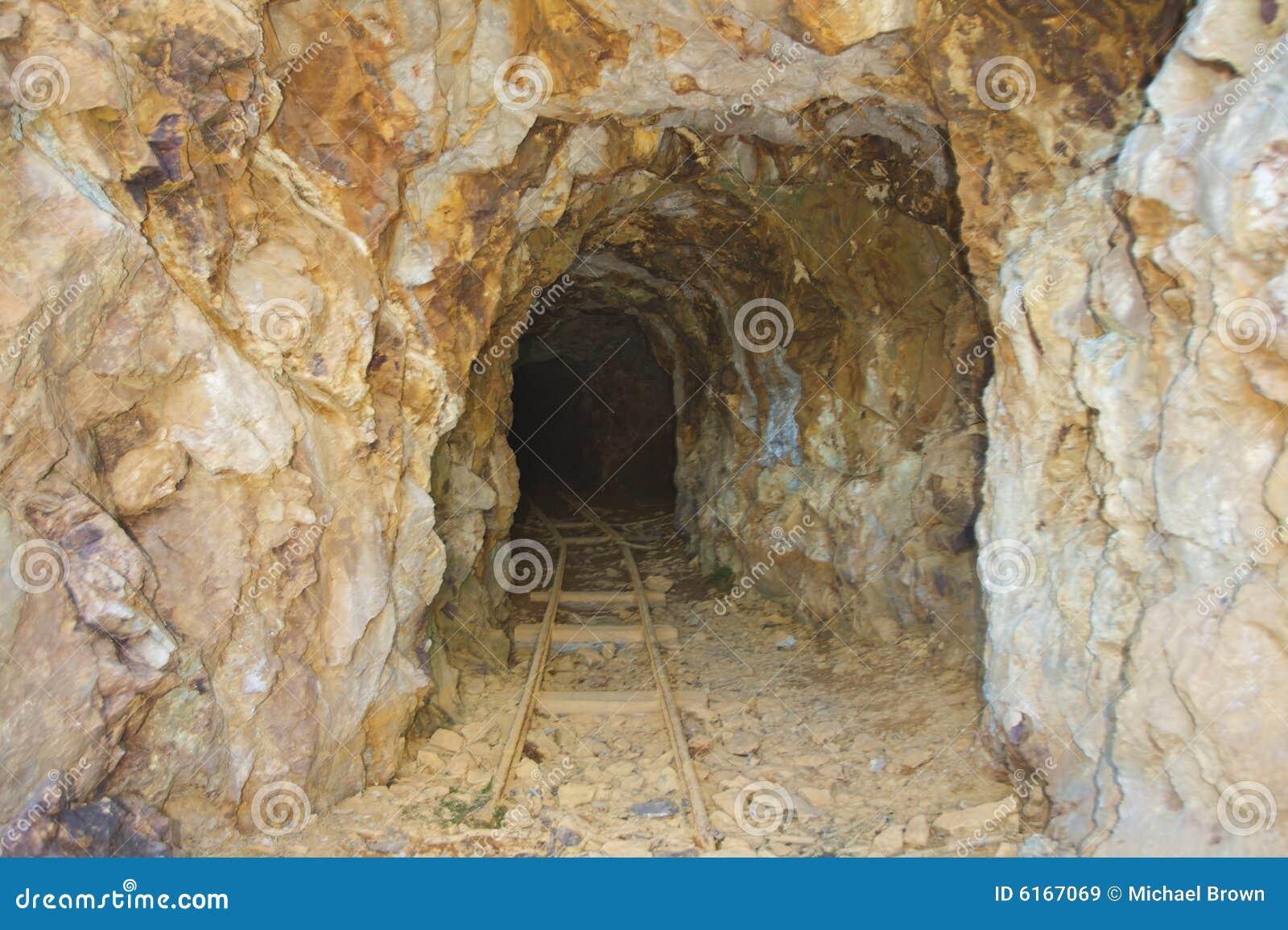 Opuszczona kopalnia złota