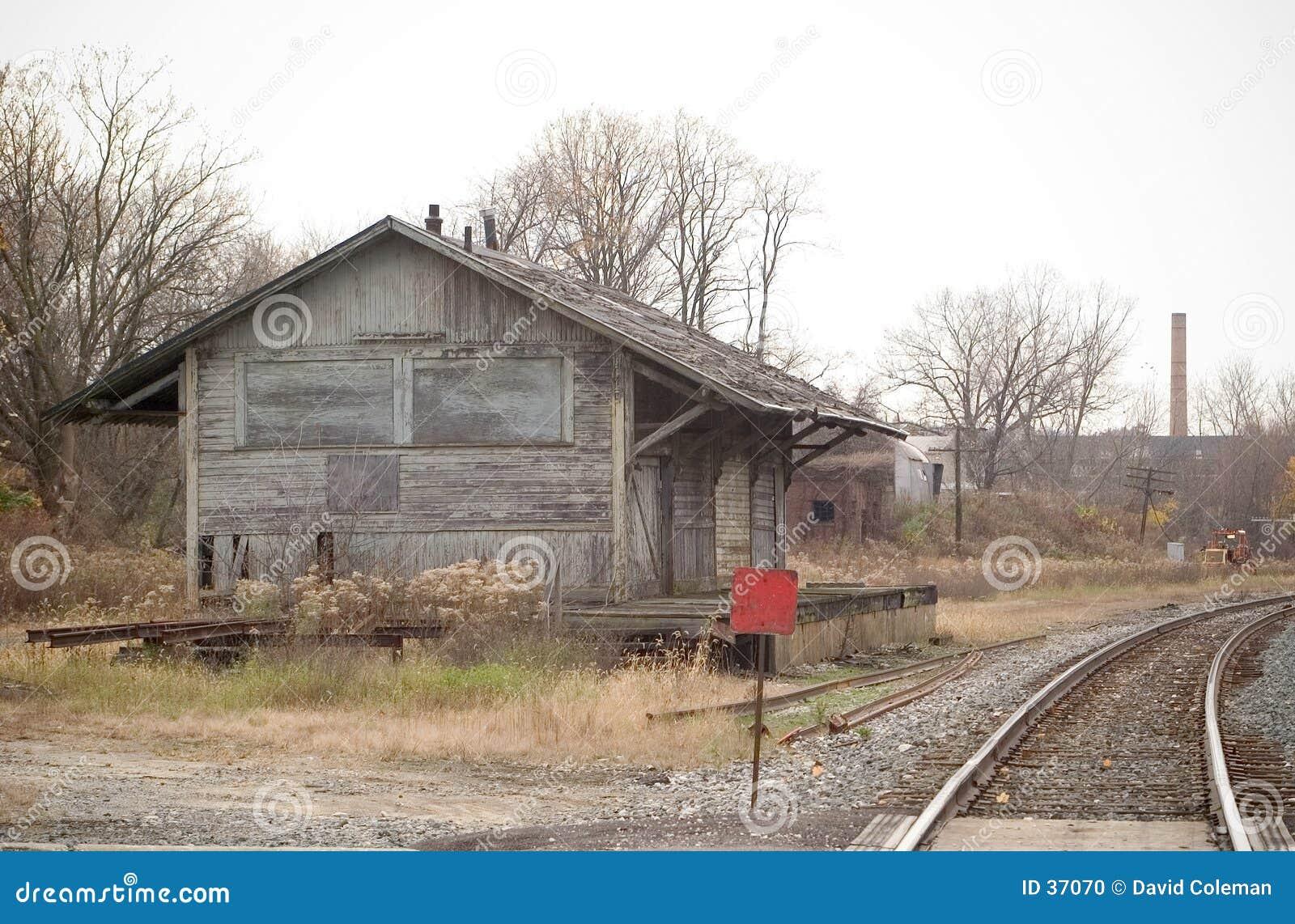Opuszczona stacja,