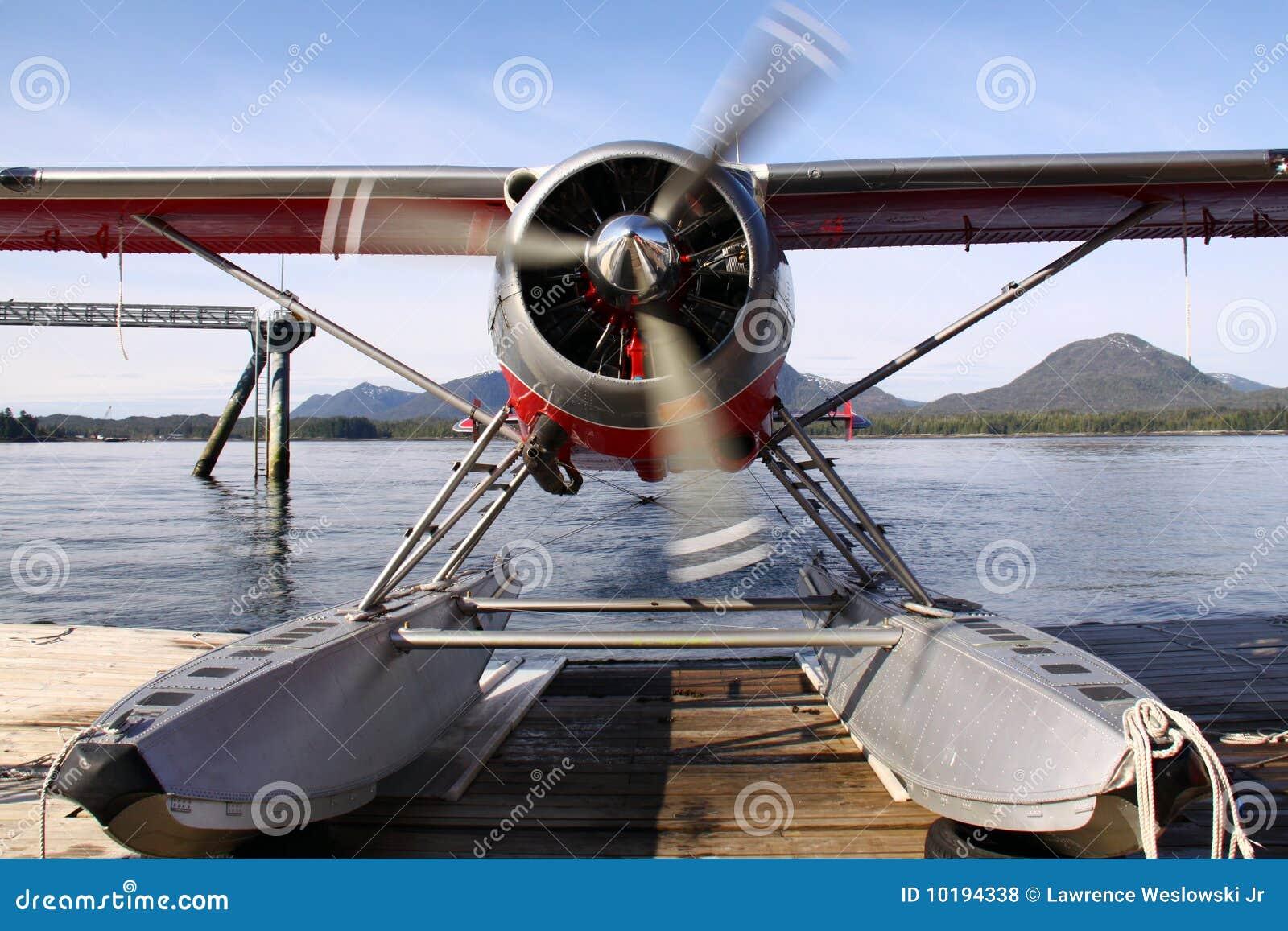 Opwarmen het van Alaska van het Vliegtuig van de Vlotter