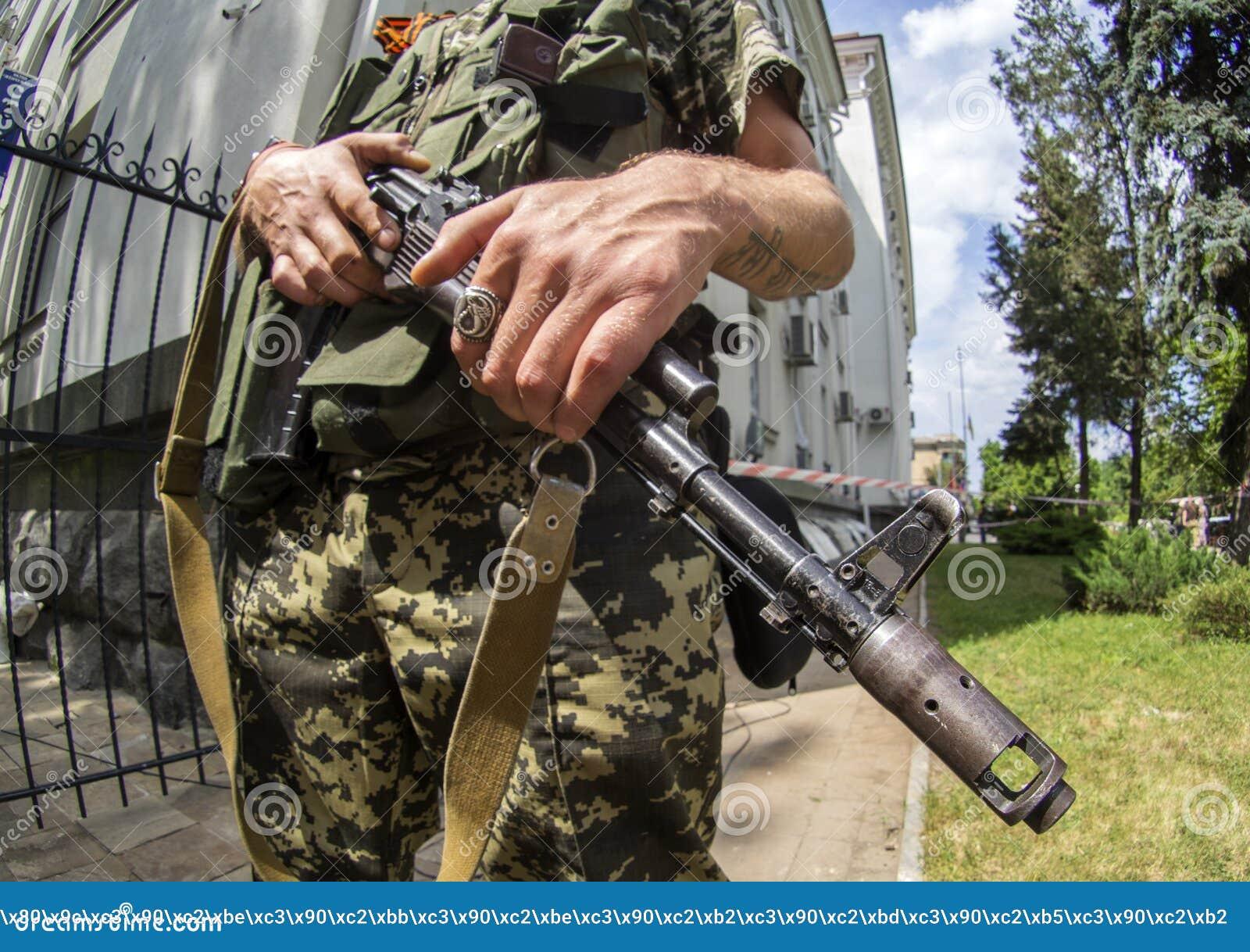 Orężny kryzys w Ukraina