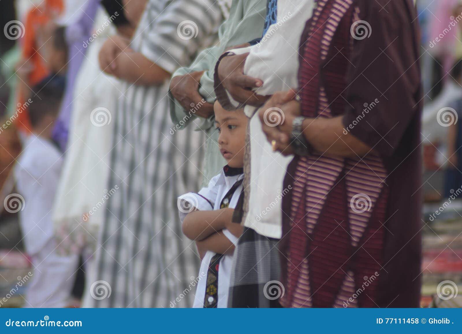 Orações de Eid al-Adha em Semarang