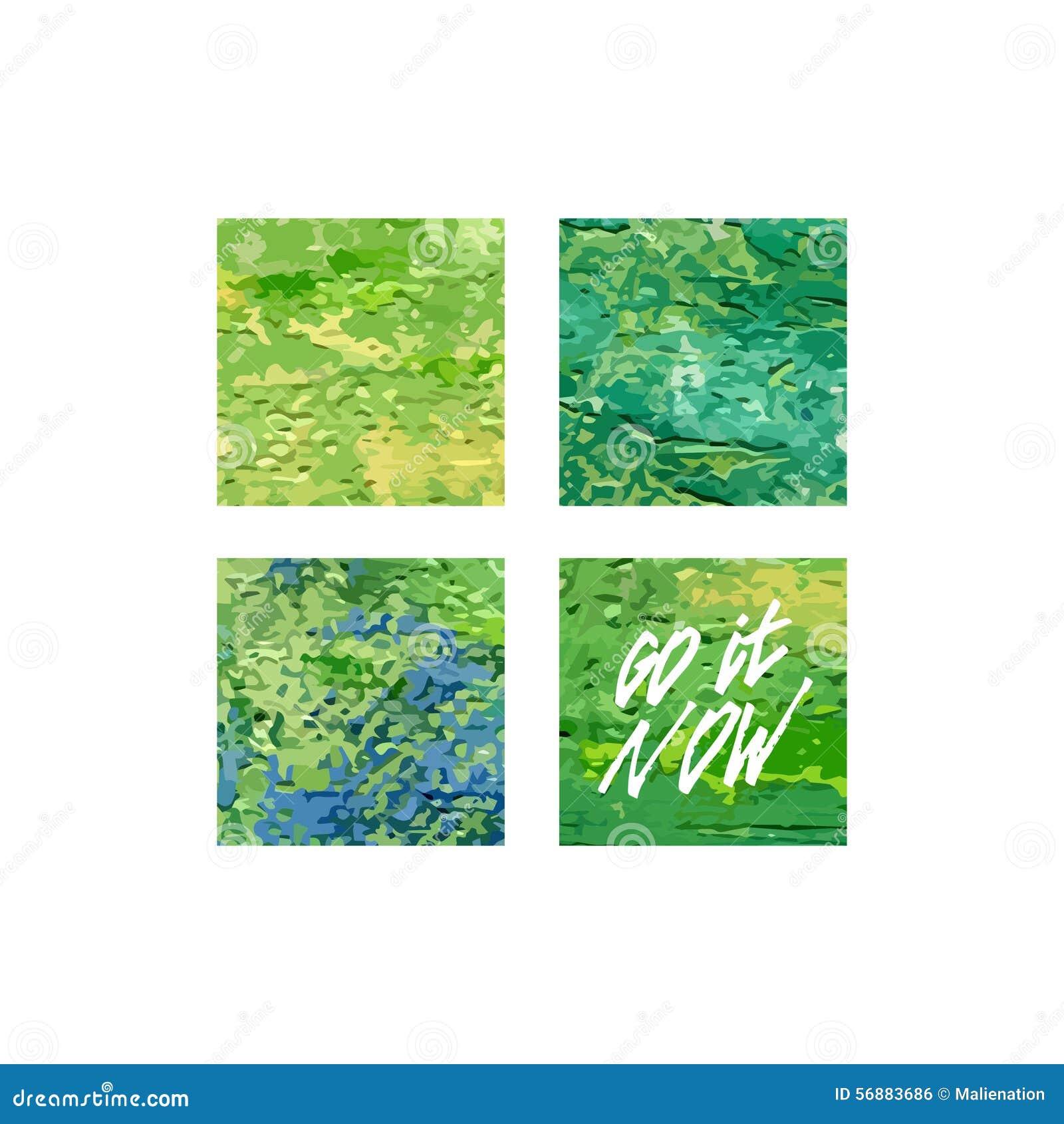 Ora va stampa acrilica quadrata Il modello del manifesto, vector la progettazione astratta