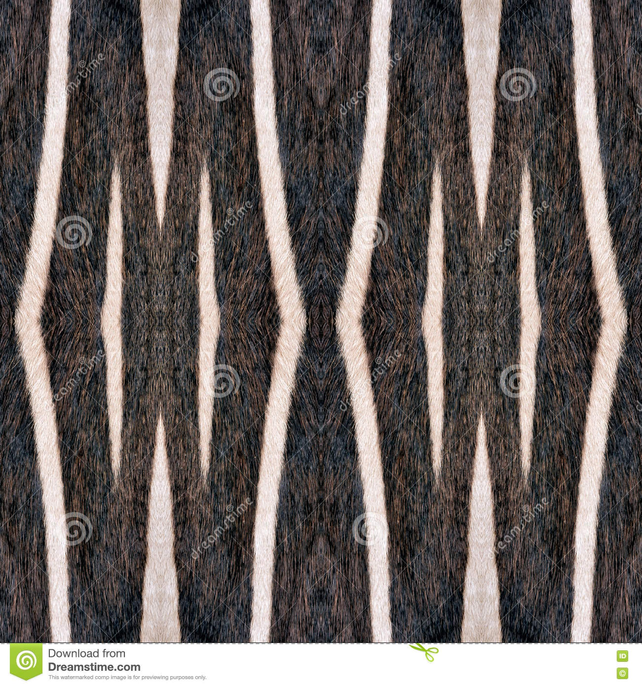 OrAbstract, Seamless Wallpaper Tiles, Zebra Stripes