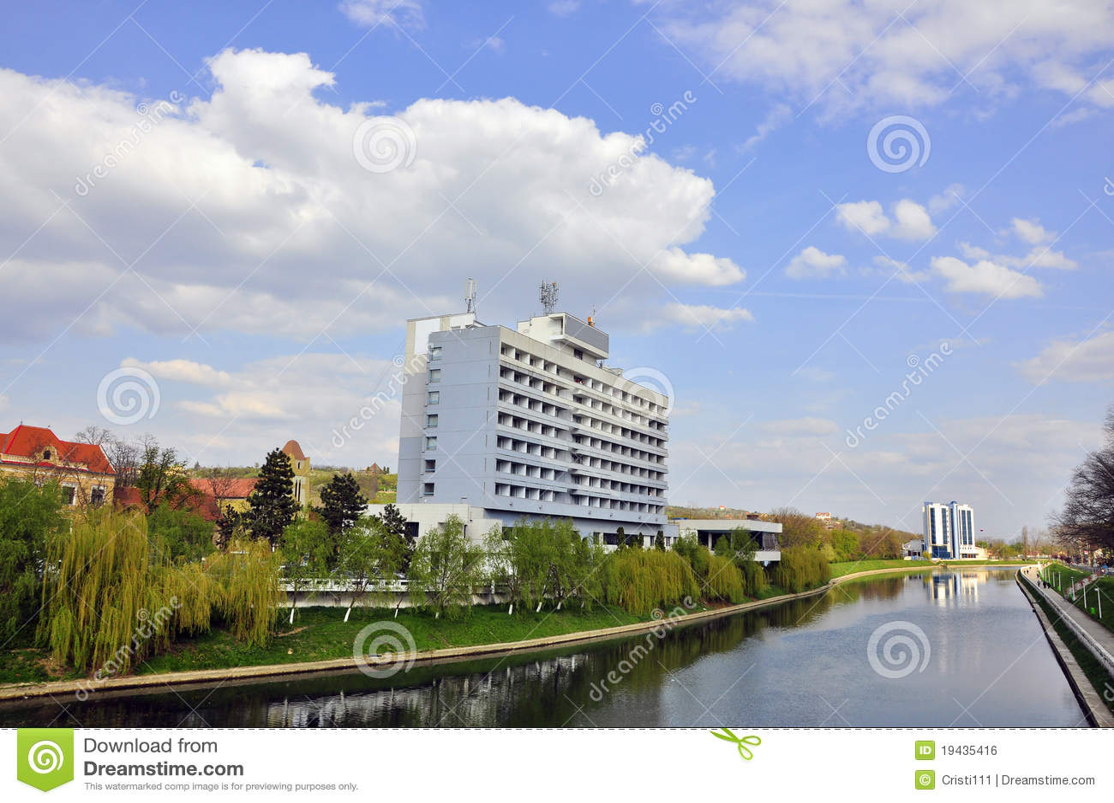 Download Oradea cris river stock photo. Image of tourism, tourists - 19435416