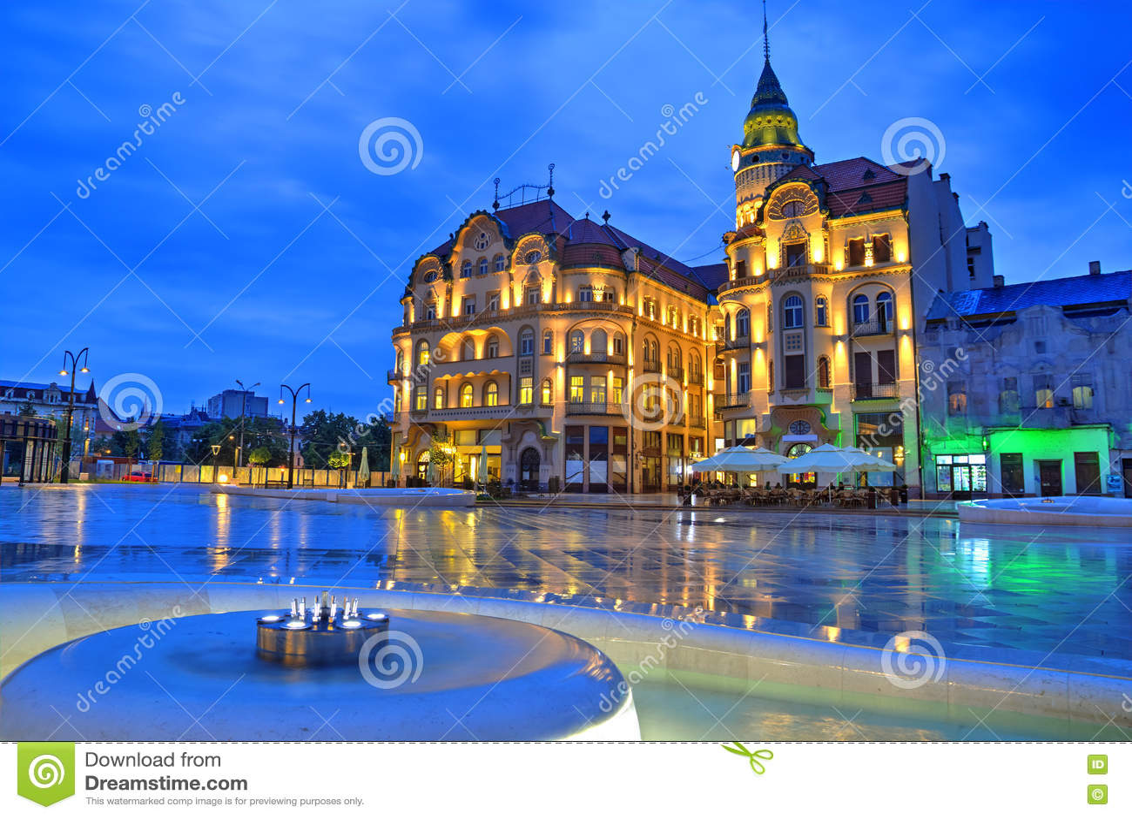 Stadt Rumänien