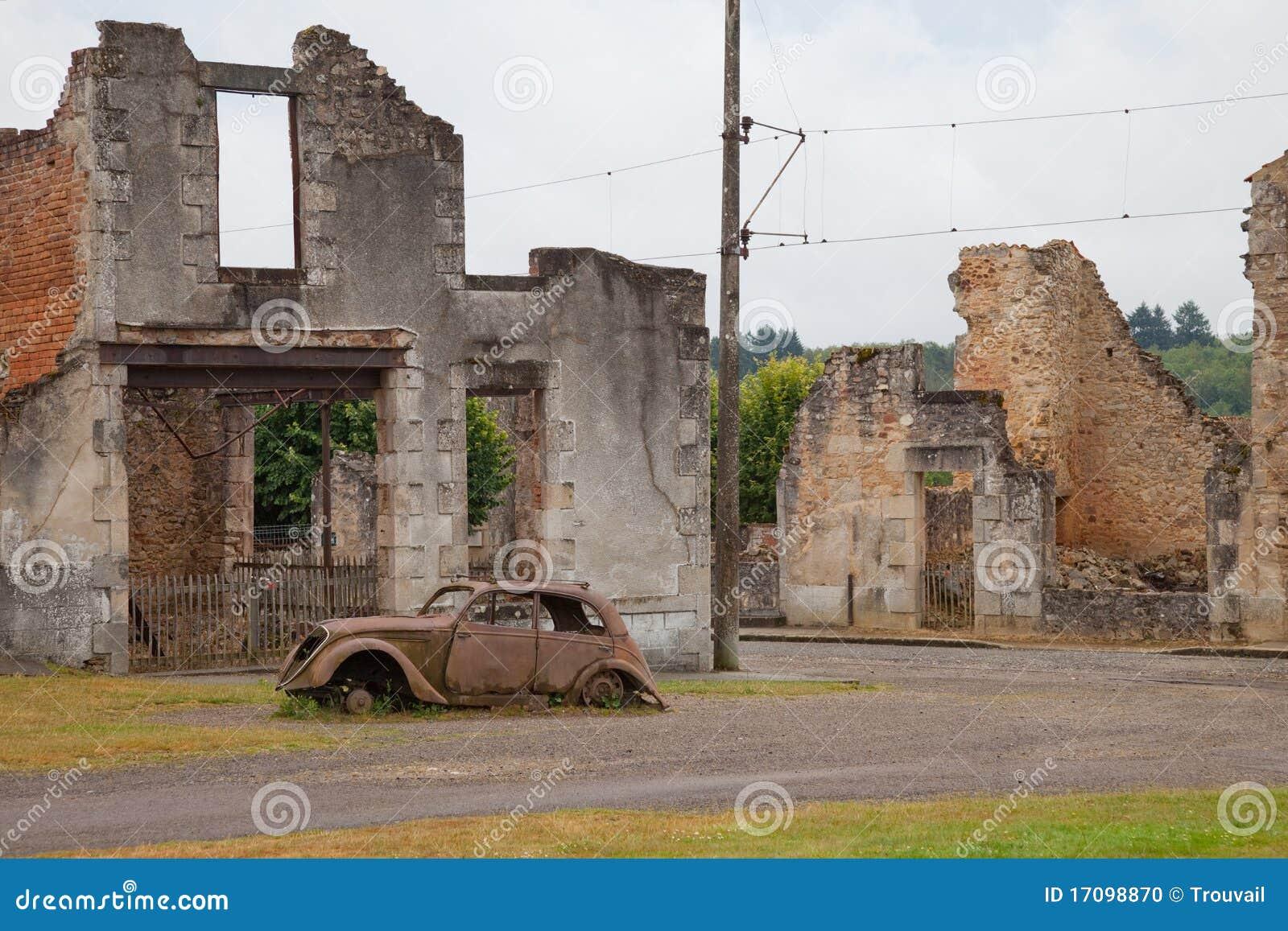 Oradour-sur-Glane Kriegdenkmal
