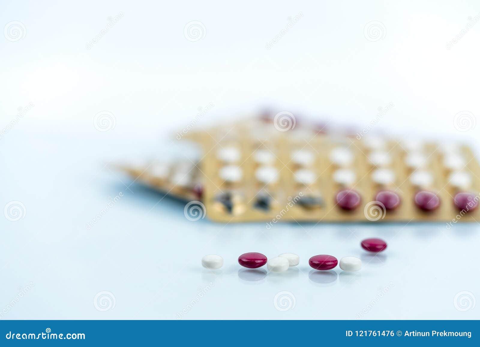 Oralne antykoncepcyjne pigułki Kontrola urodzin pigułki Hormony dla antykoncepci Planowanie rodziny, hormonalny trądzik, gynecolo