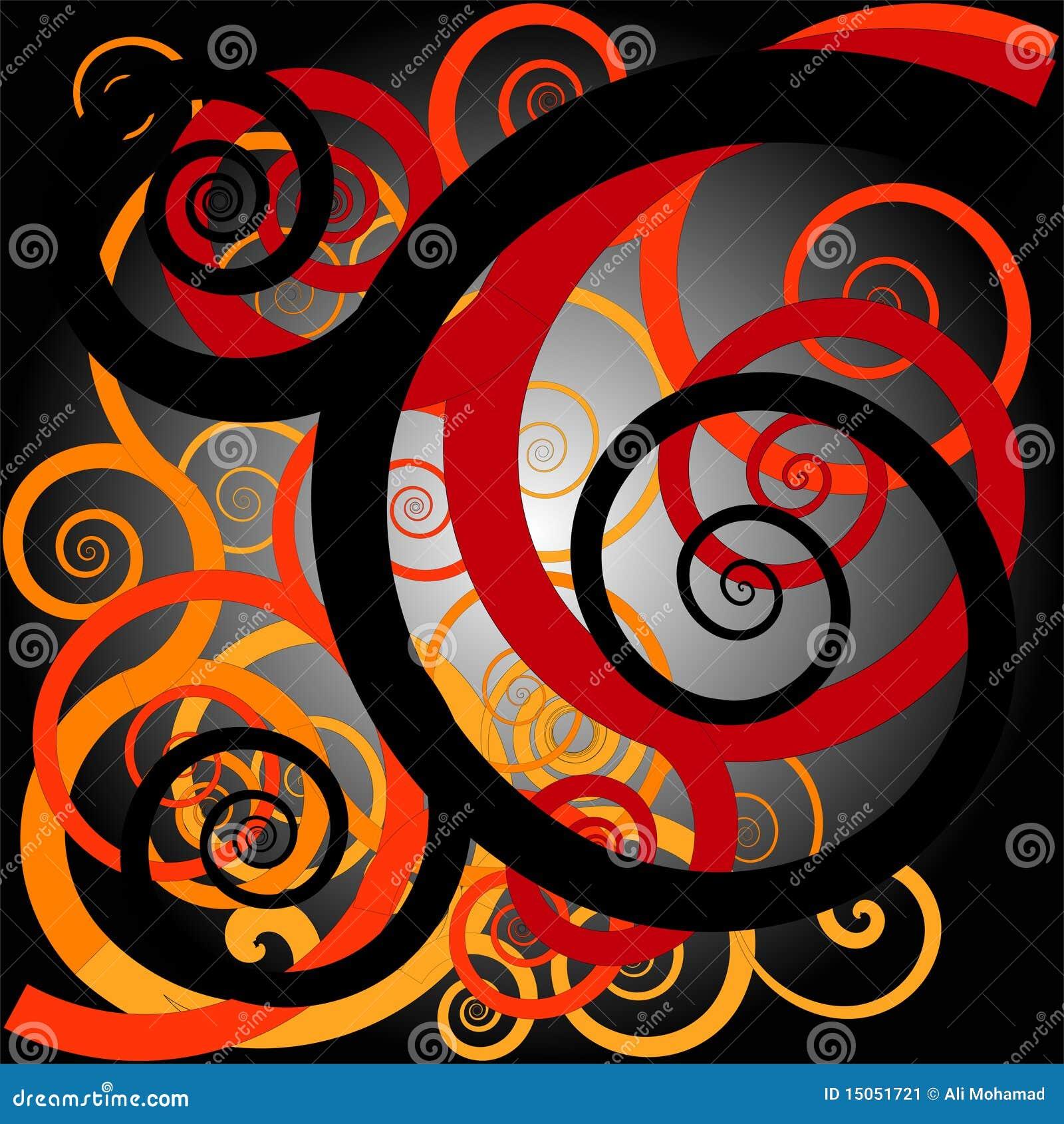 Orang Ulu Motif Design Stock Illustration Illustration Of