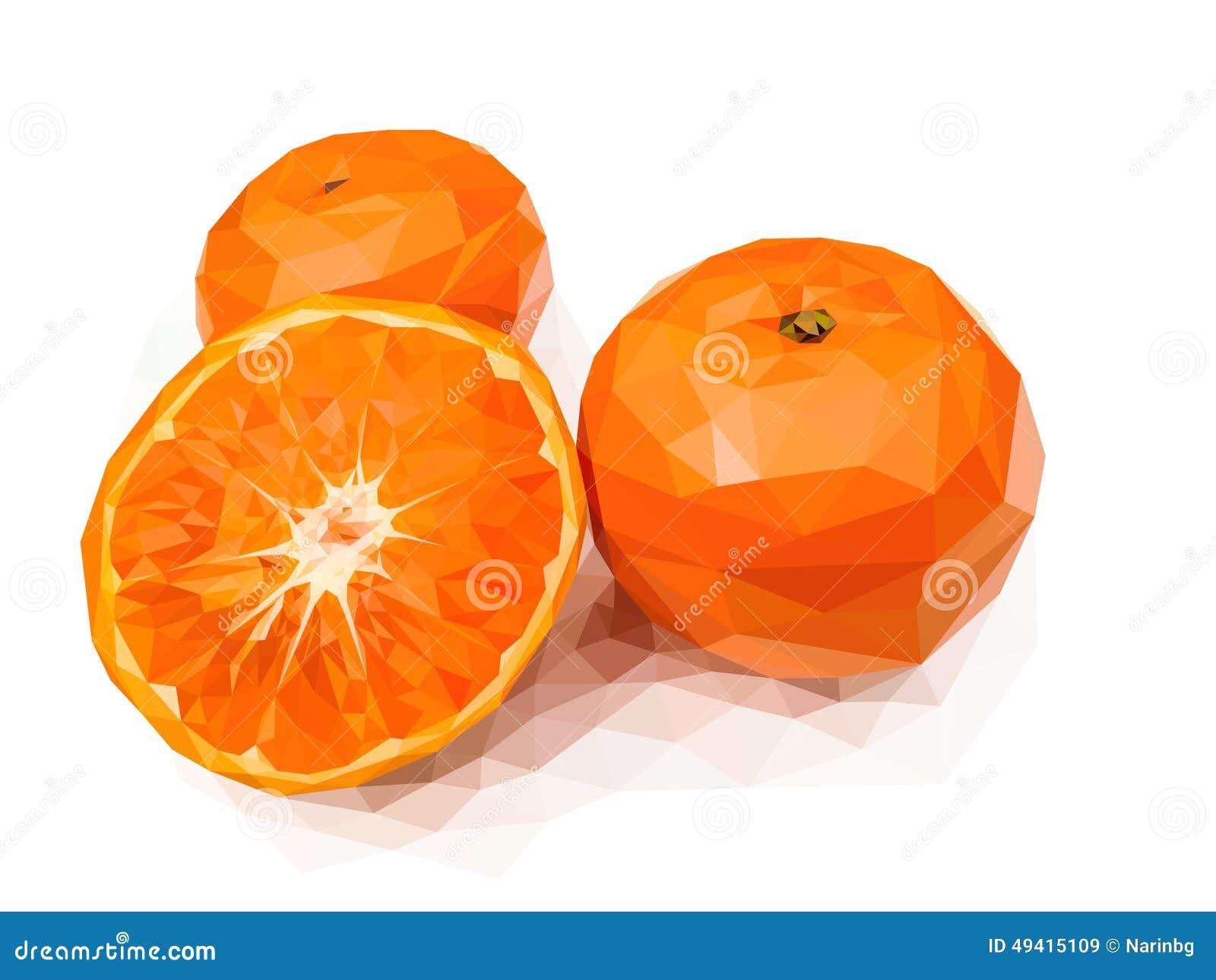 Download Orange vektor abbildung. Illustration von graphik, frucht - 49415109