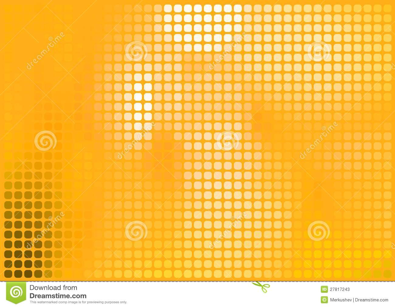 Orange Abstract Background, Vector Illustration Stock ...